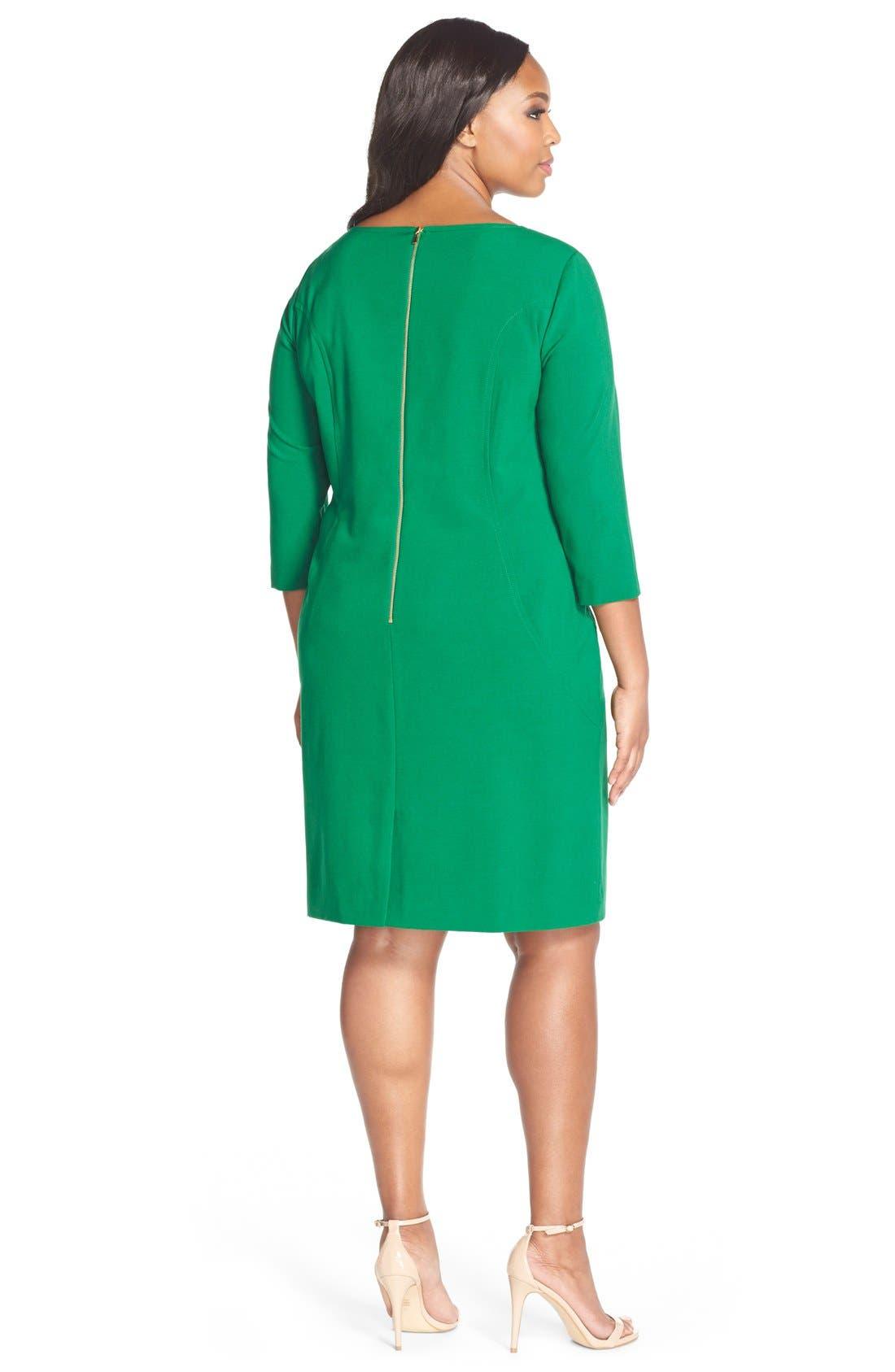 by Arthur S. Levine Seamed A-Line Dress,                             Alternate thumbnail 24, color,