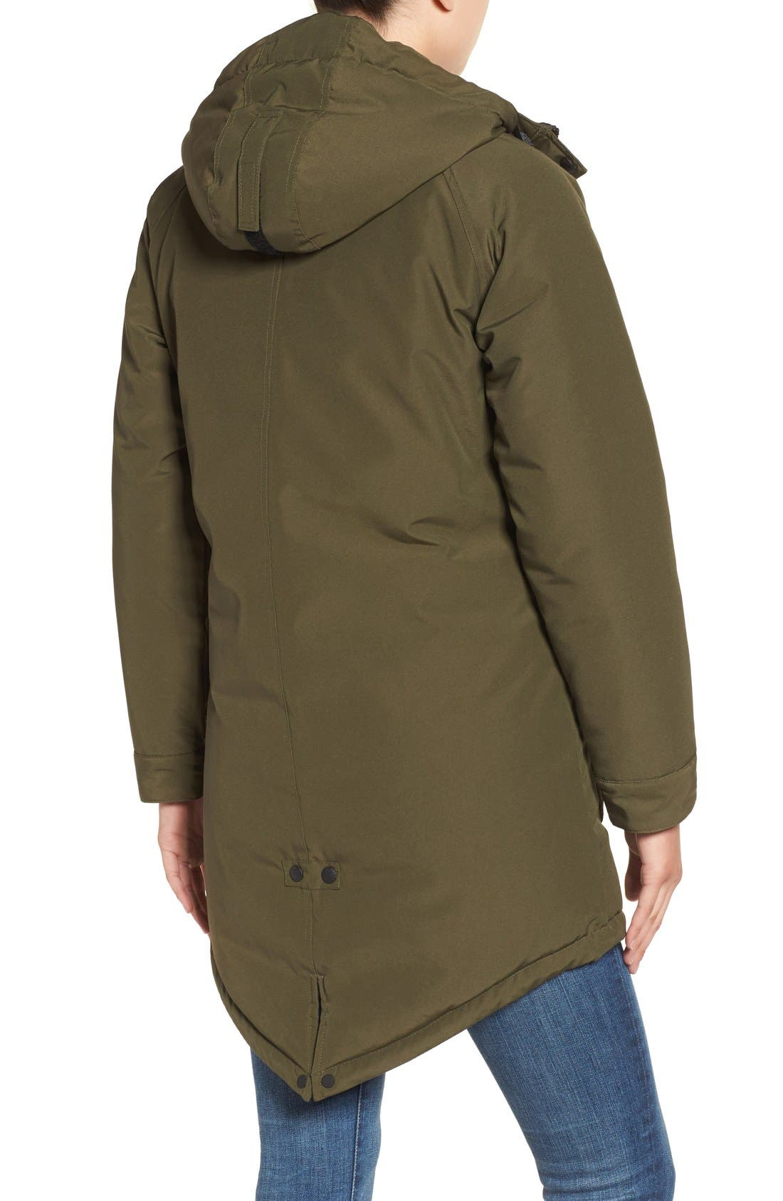 Kingman Hooded Fishtail Parka,                             Alternate thumbnail 6, color,