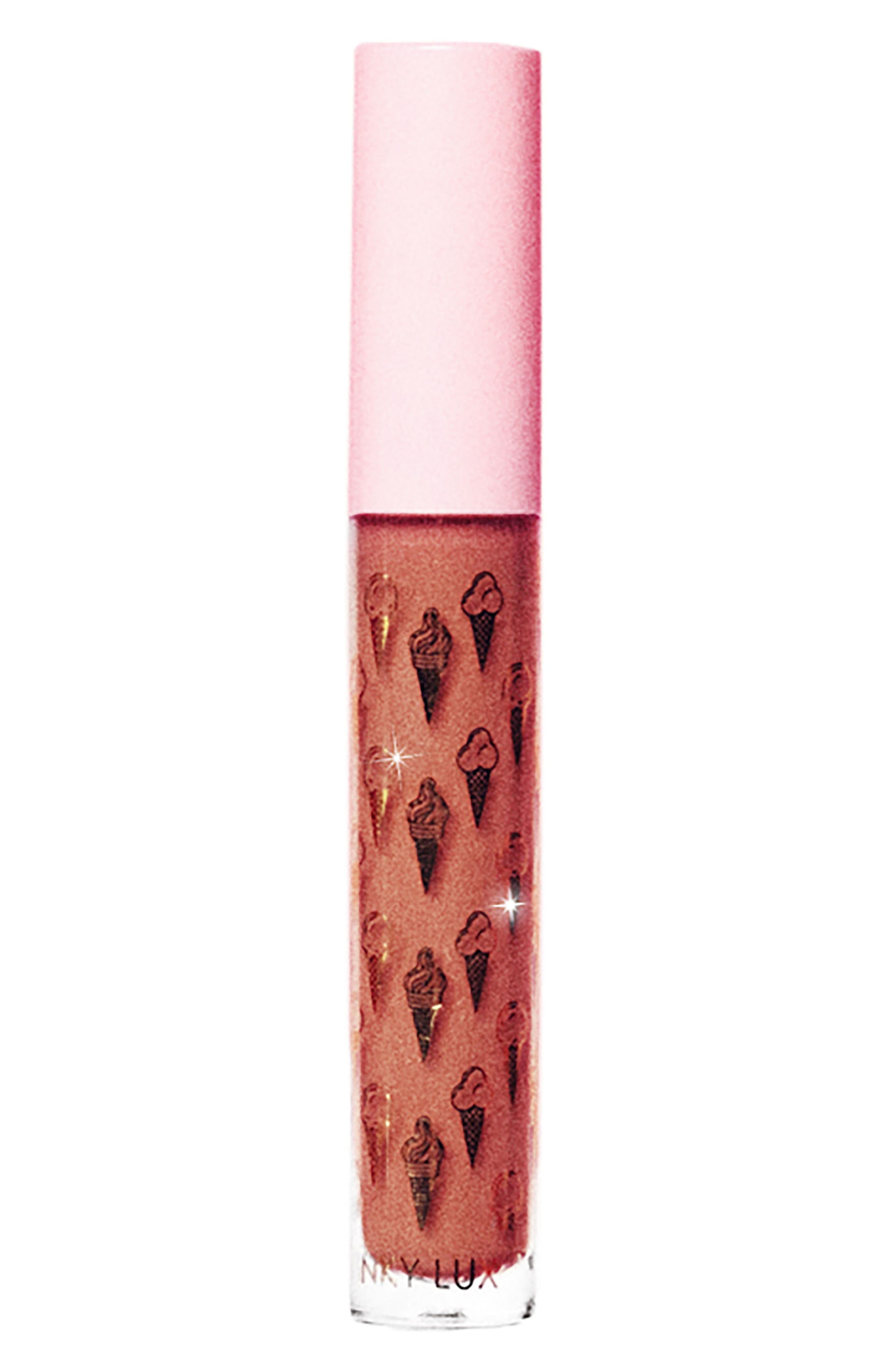 Double Matte Whip Liquid Lipstick,                         Main,                         color, COOKIE
