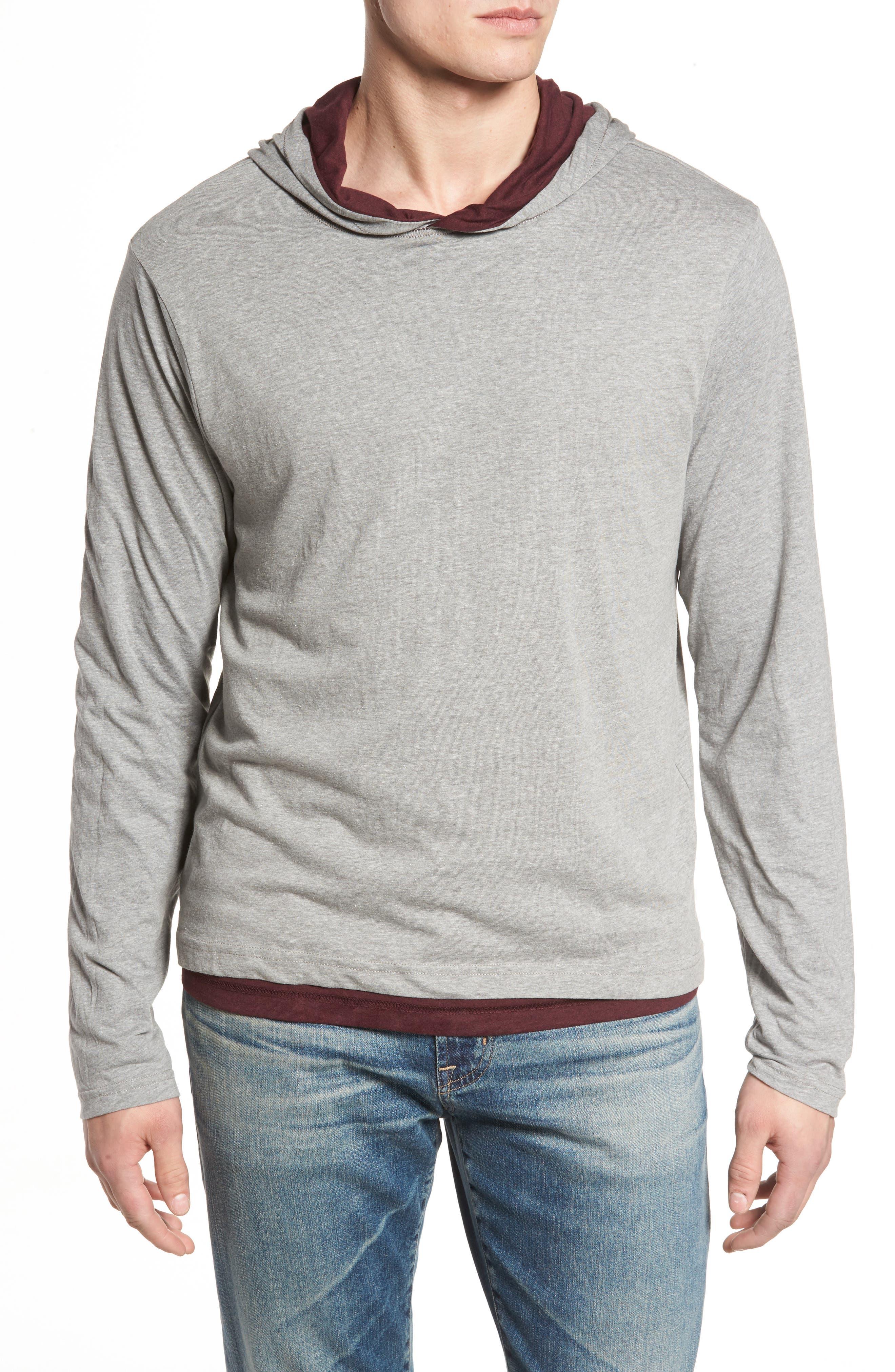 Reversible Hooded Jersey T-Shirt,                             Alternate thumbnail 9, color,