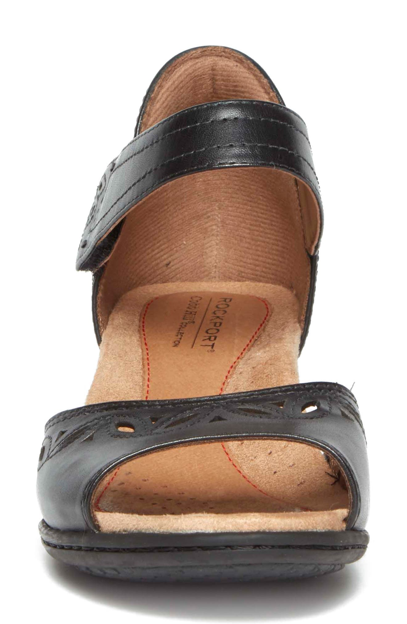 Abbott Perforated Sandal,                             Alternate thumbnail 10, color,