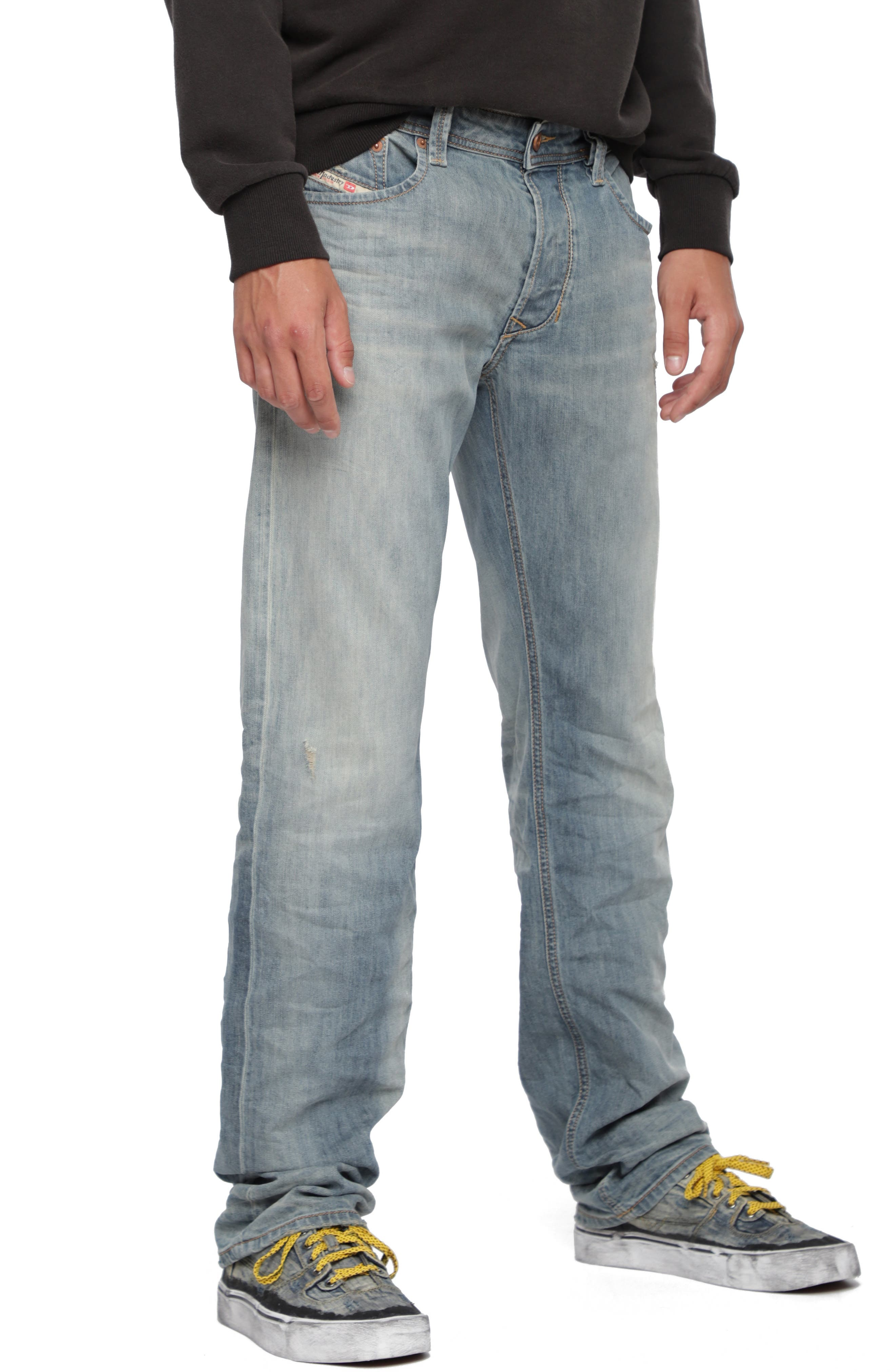 Larkee Relaxed Fit Jeans,                         Main,                         color, 084UK