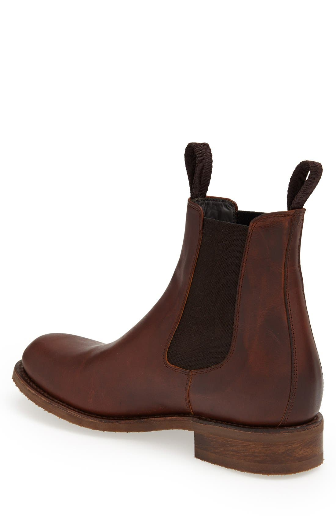 'Al' Chelsea Boot,                             Alternate thumbnail 5, color,                             TAN