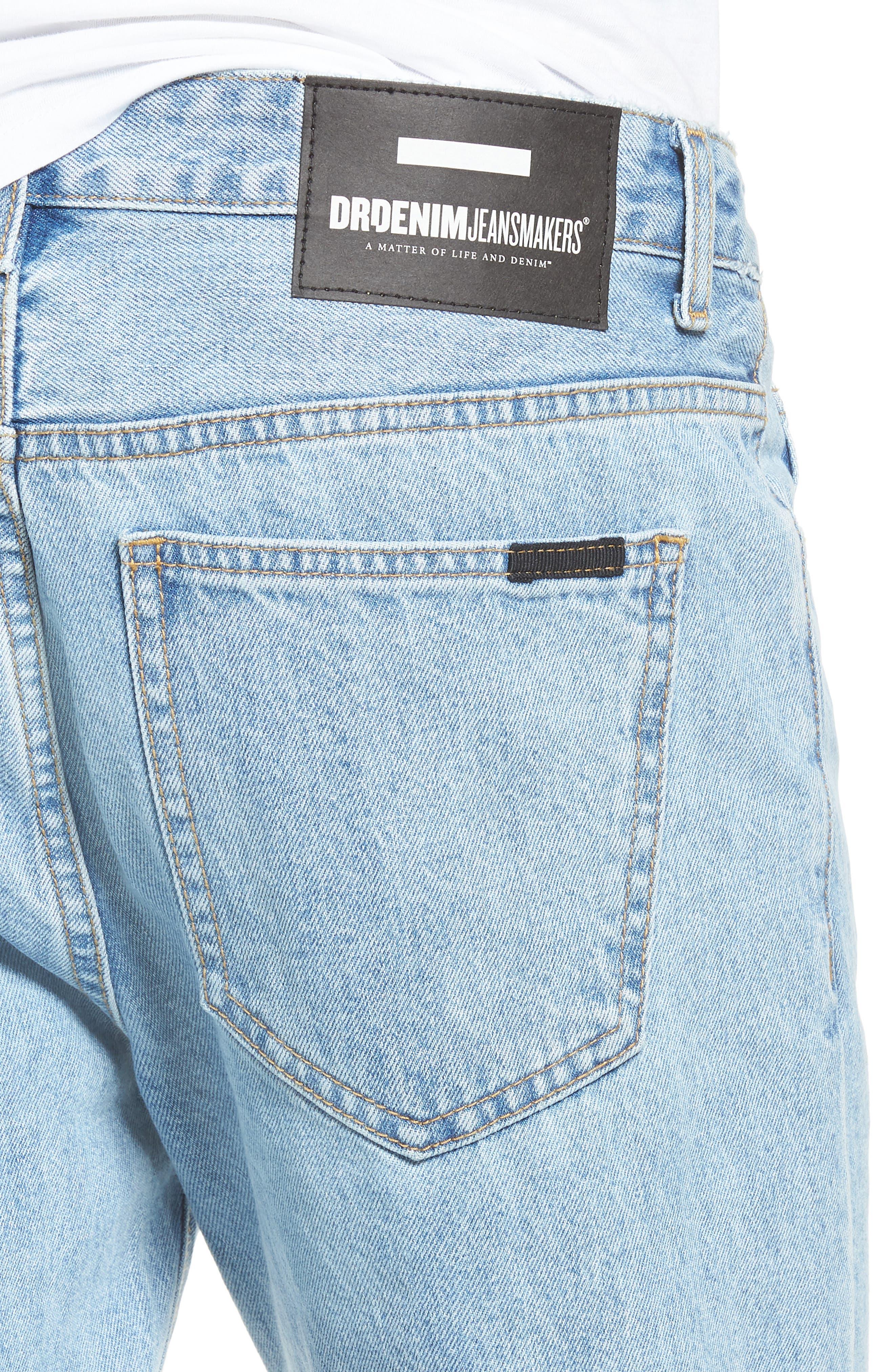 Otis Straight Fit Jeans,                             Alternate thumbnail 4, color,                             400