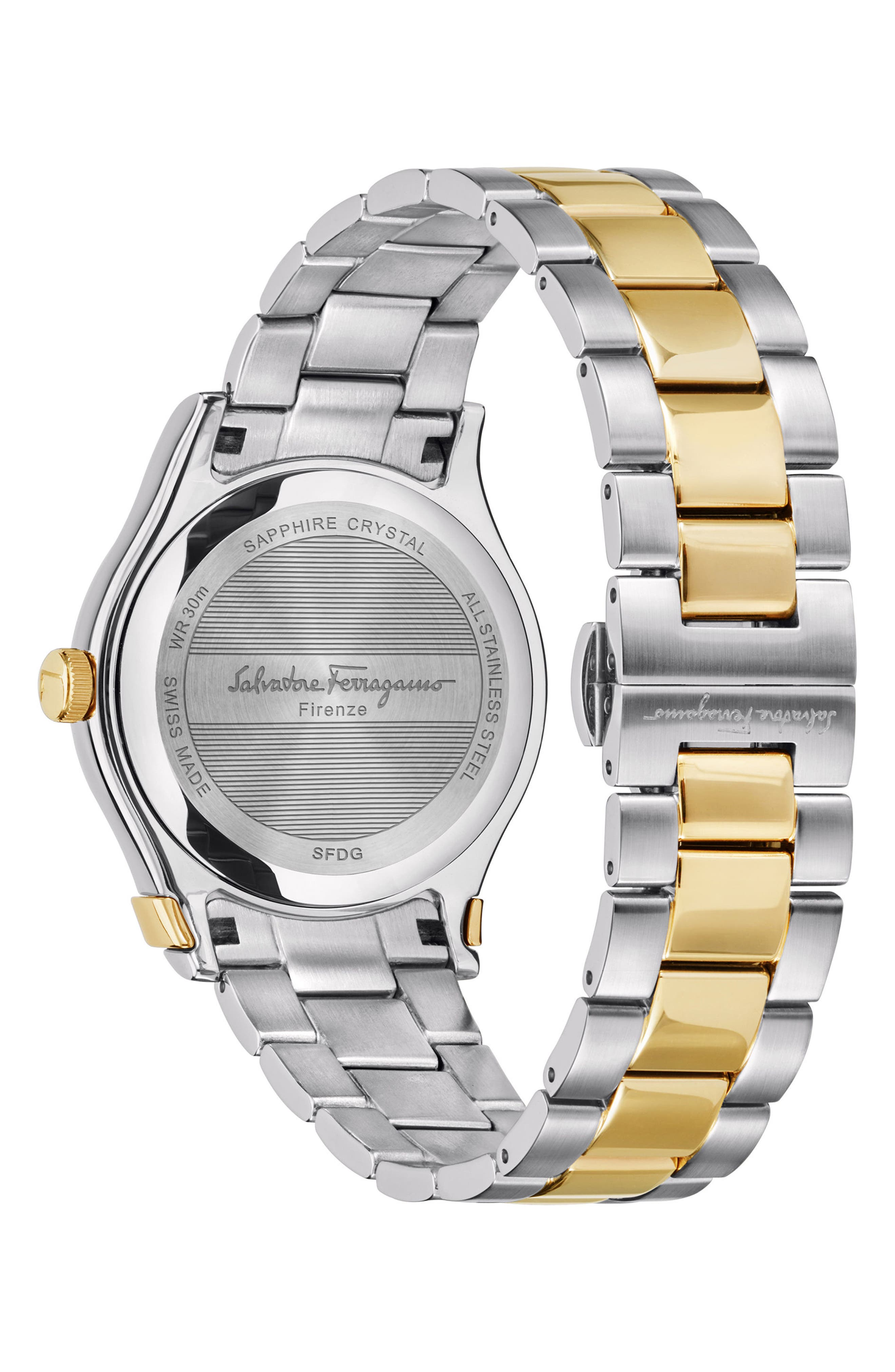 1898 Bracelet Watch, 40mm,                             Alternate thumbnail 2, color,                             SILVER/ GREY/ GOLD