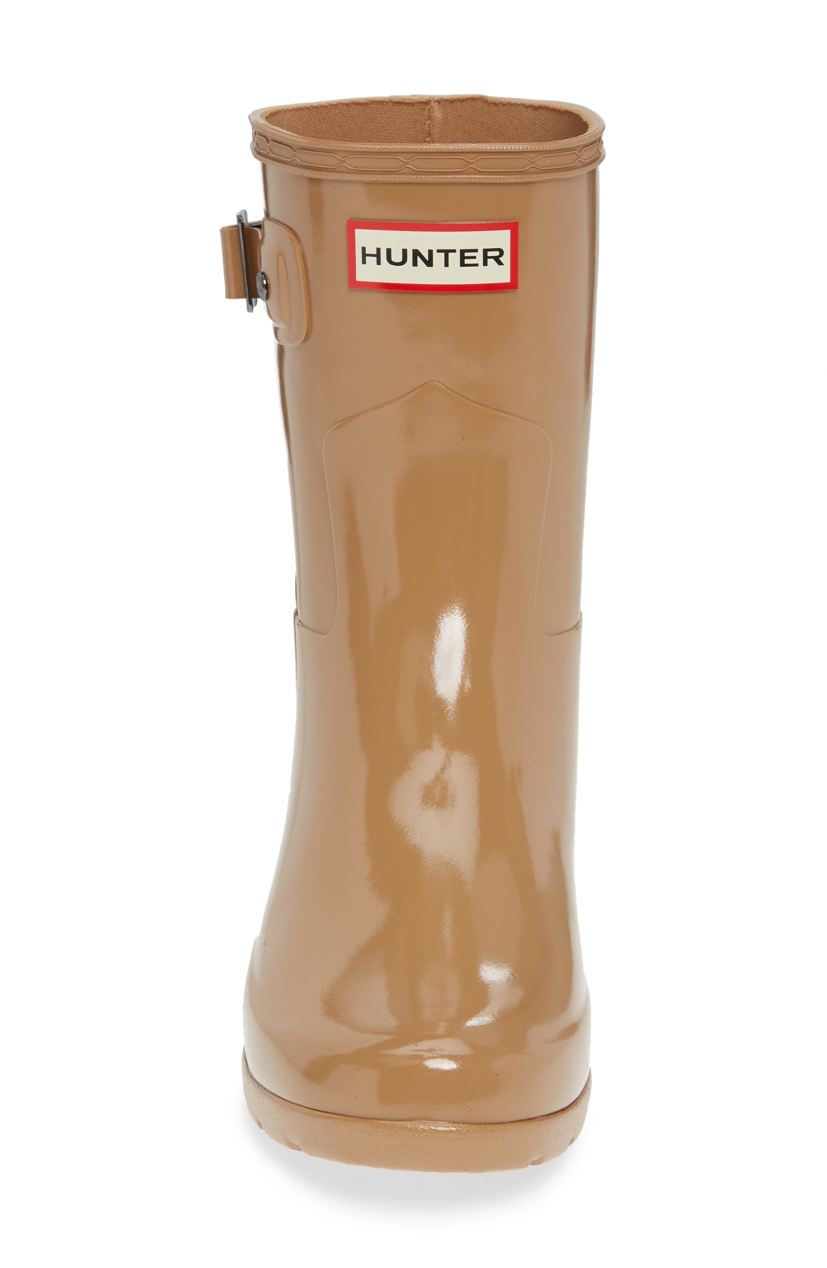 Refined Short Gloss Rain Boot,                             Alternate thumbnail 4, color,                             200