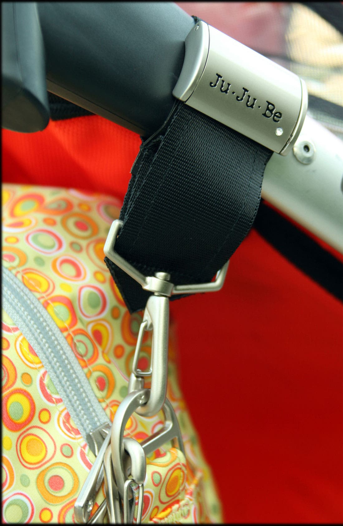 'Be Connected' Diaper Bag Clips,                             Alternate thumbnail 2, color,                             SILVER