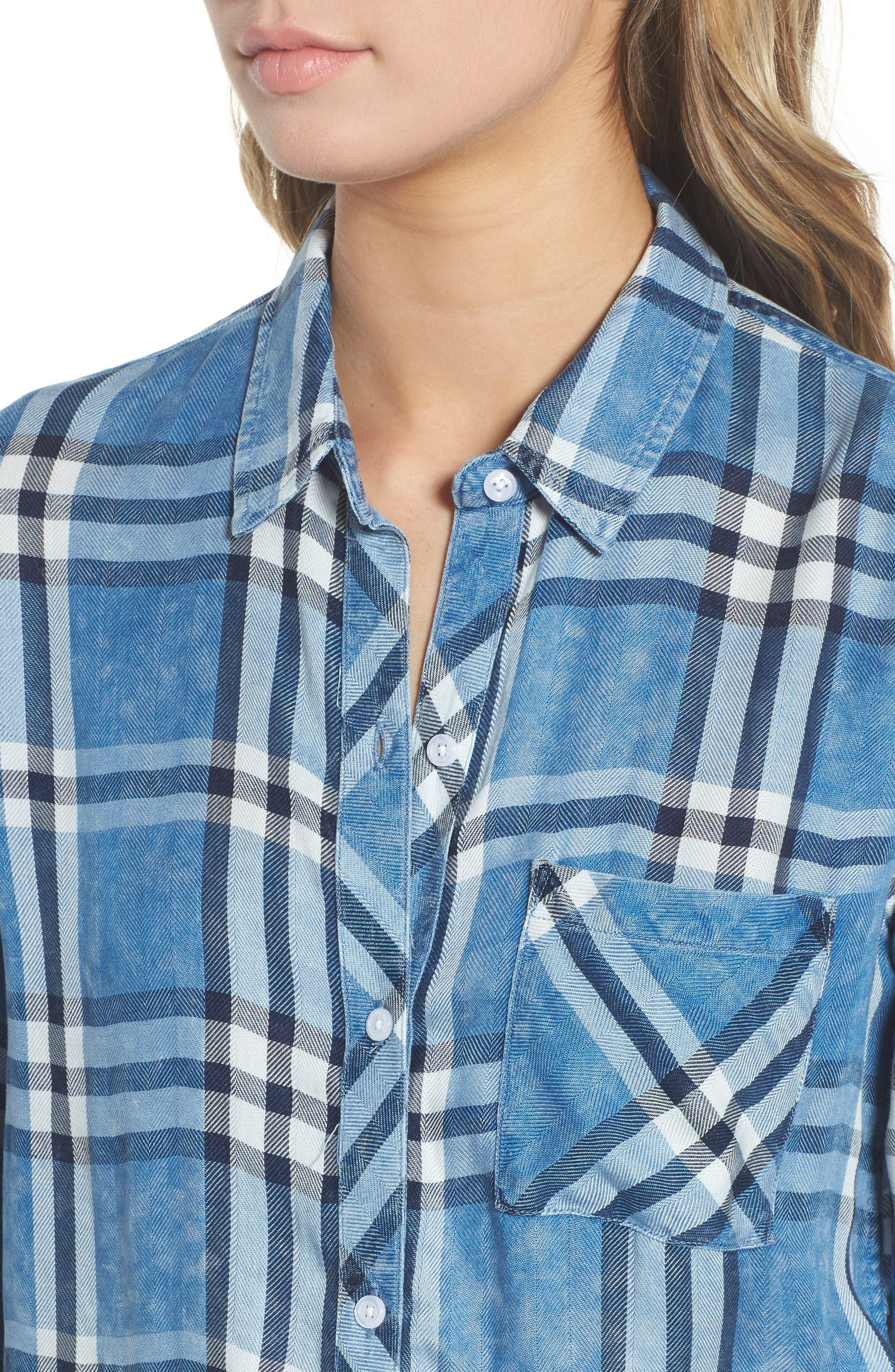 Hunter Plaid Shirt,                             Alternate thumbnail 482, color,