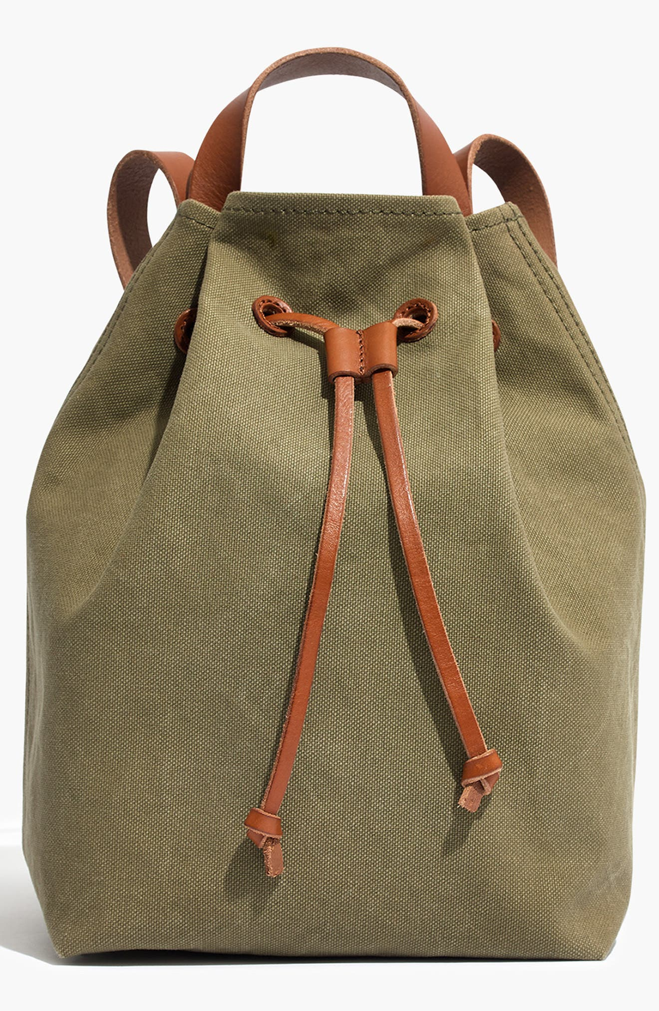 Somerset Canvas Backpack,                             Main thumbnail 2, color,