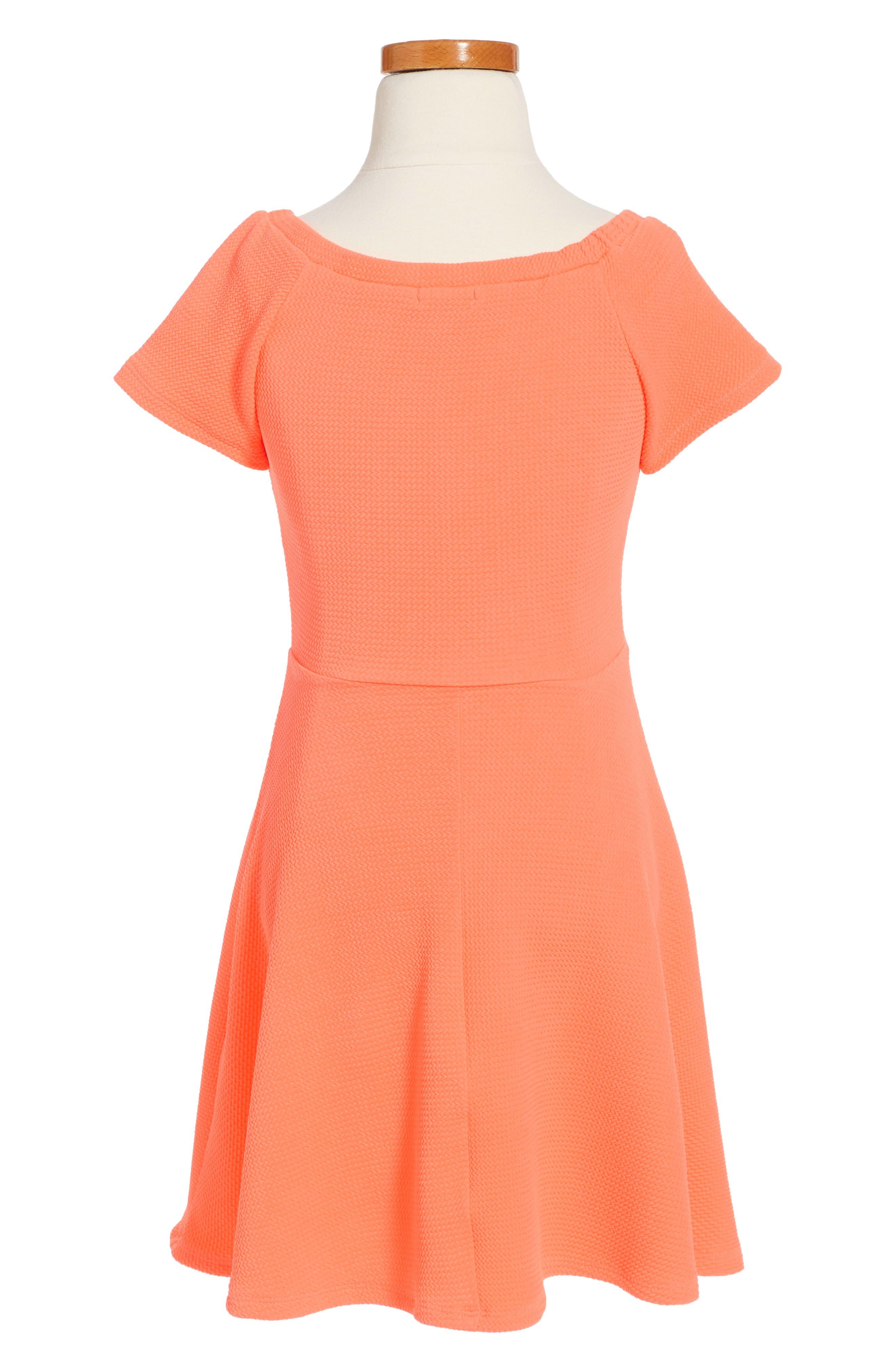 Skater Dress,                             Alternate thumbnail 2, color,                             820