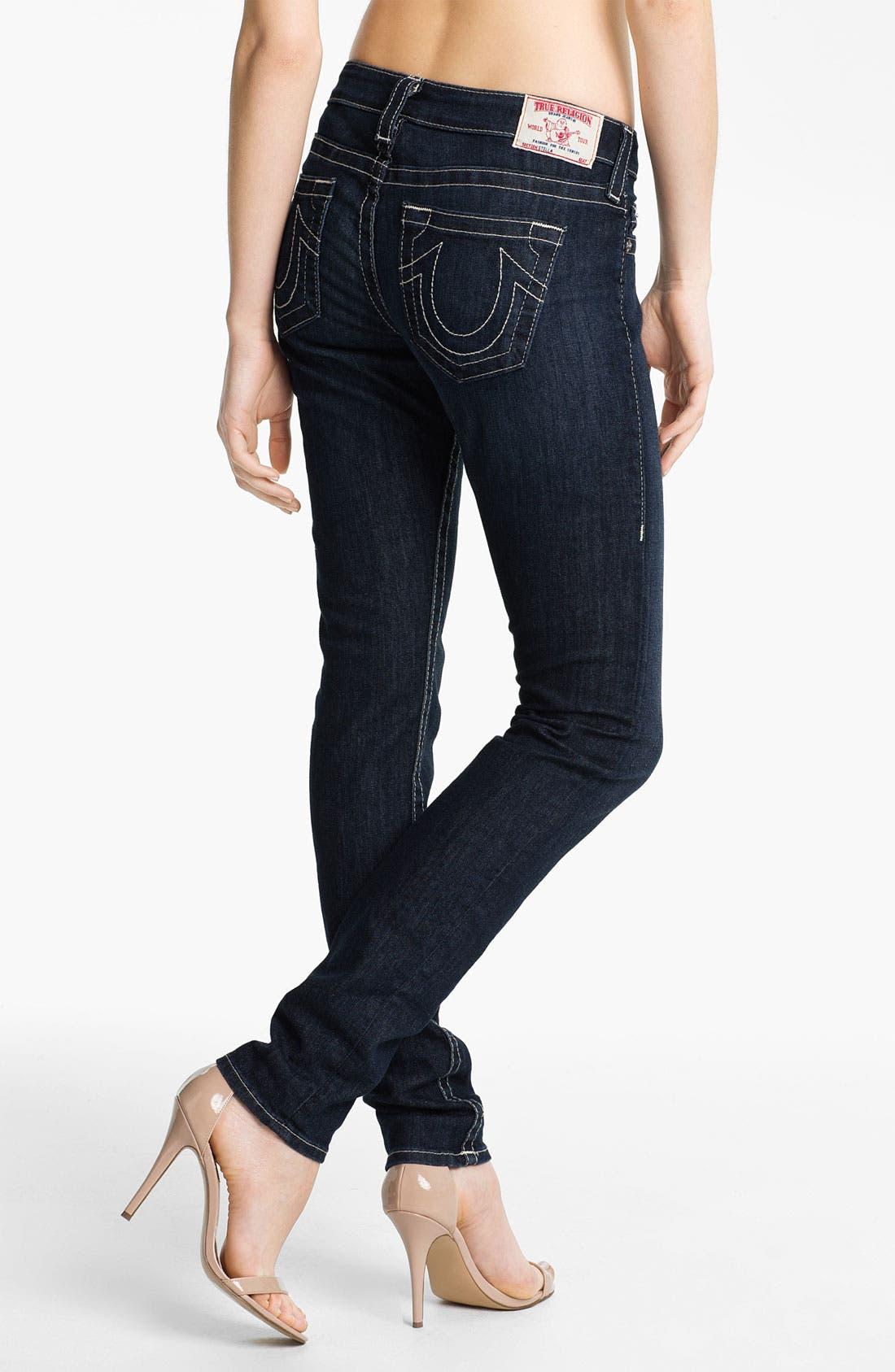 'Stella' Skinny Jeans,                             Alternate thumbnail 3, color,                             475