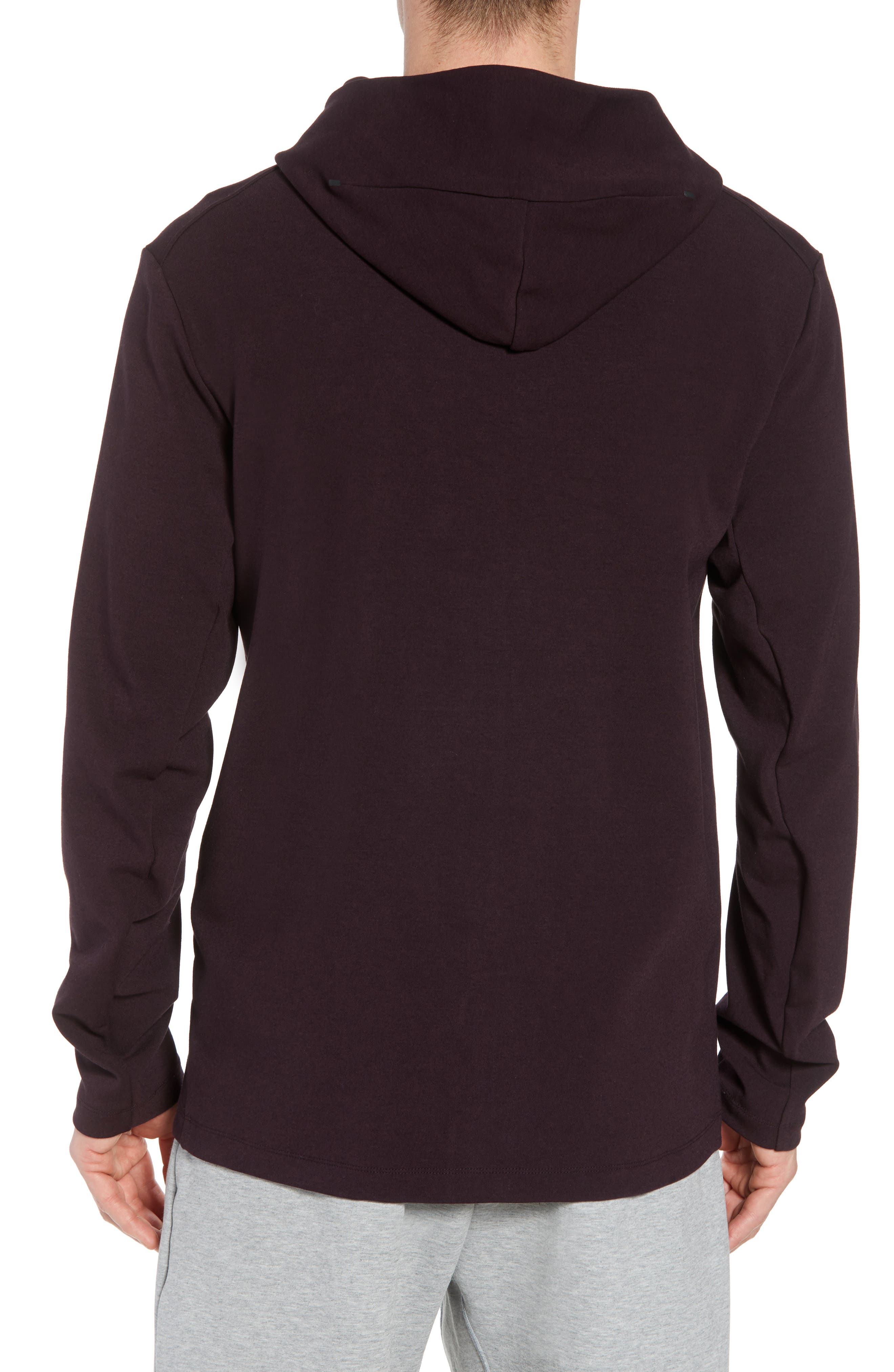 Sportswear Tech Full Zip Hoodie,                             Alternate thumbnail 2, color,                             BLACK/ BLACK