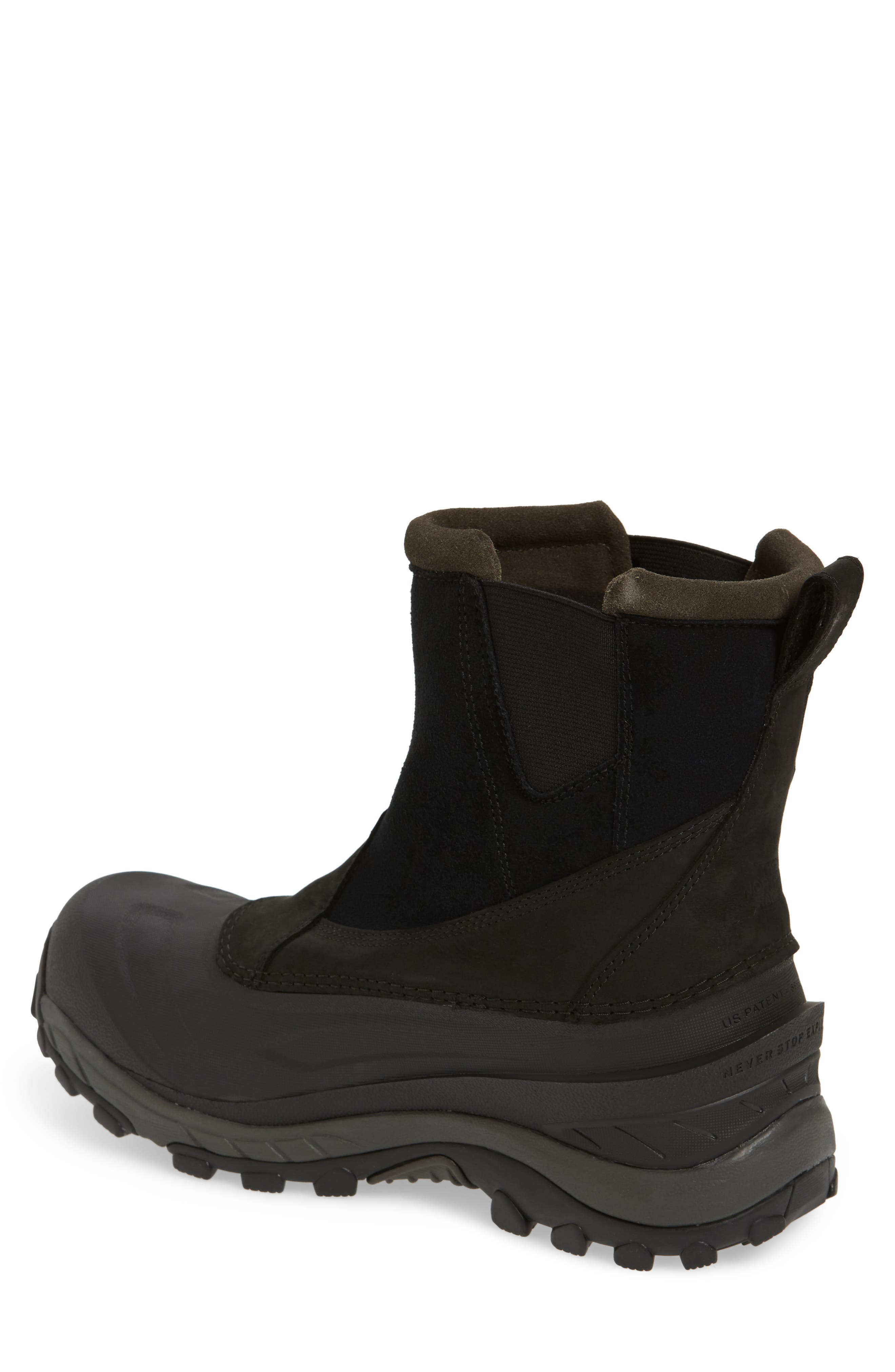 Chilkat III Waterproof Insulated Pull-On Boot,                             Alternate thumbnail 2, color,                             TNF BLACK