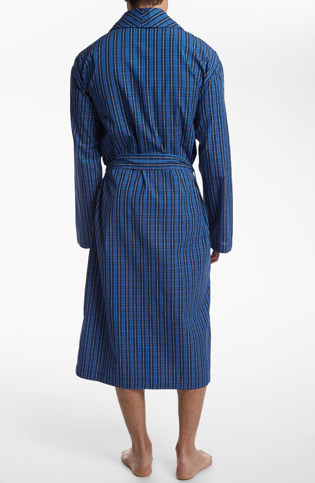 Woven Robe,                             Alternate thumbnail 2, color,                             HARWICH PLAID