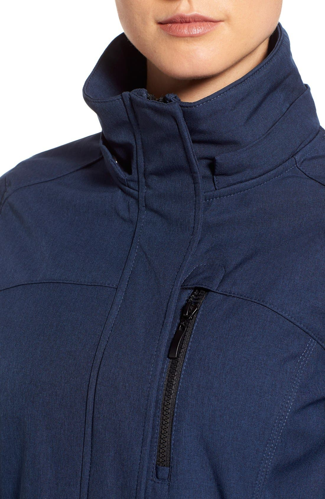 Crossdye Hooded Soft Shell Jacket,                             Alternate thumbnail 23, color,