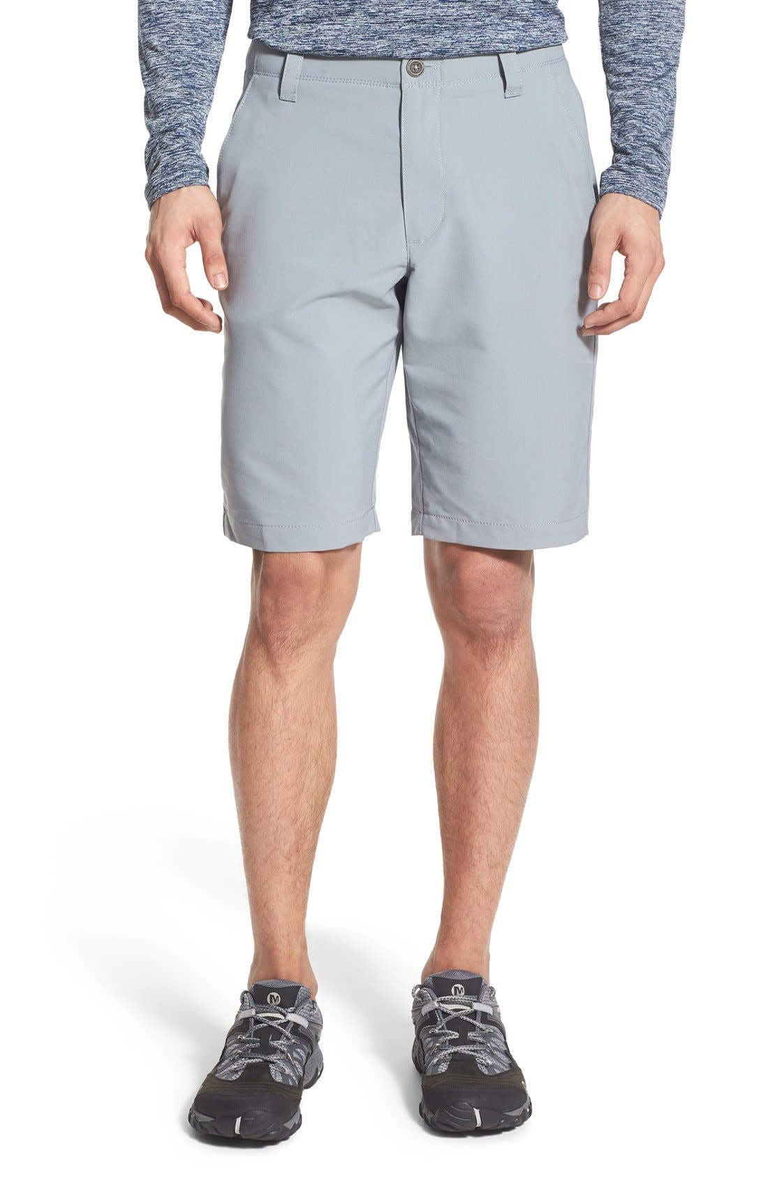 'Matchplay' Moisture Wicking Golf Shorts,                             Alternate thumbnail 6, color,                             035
