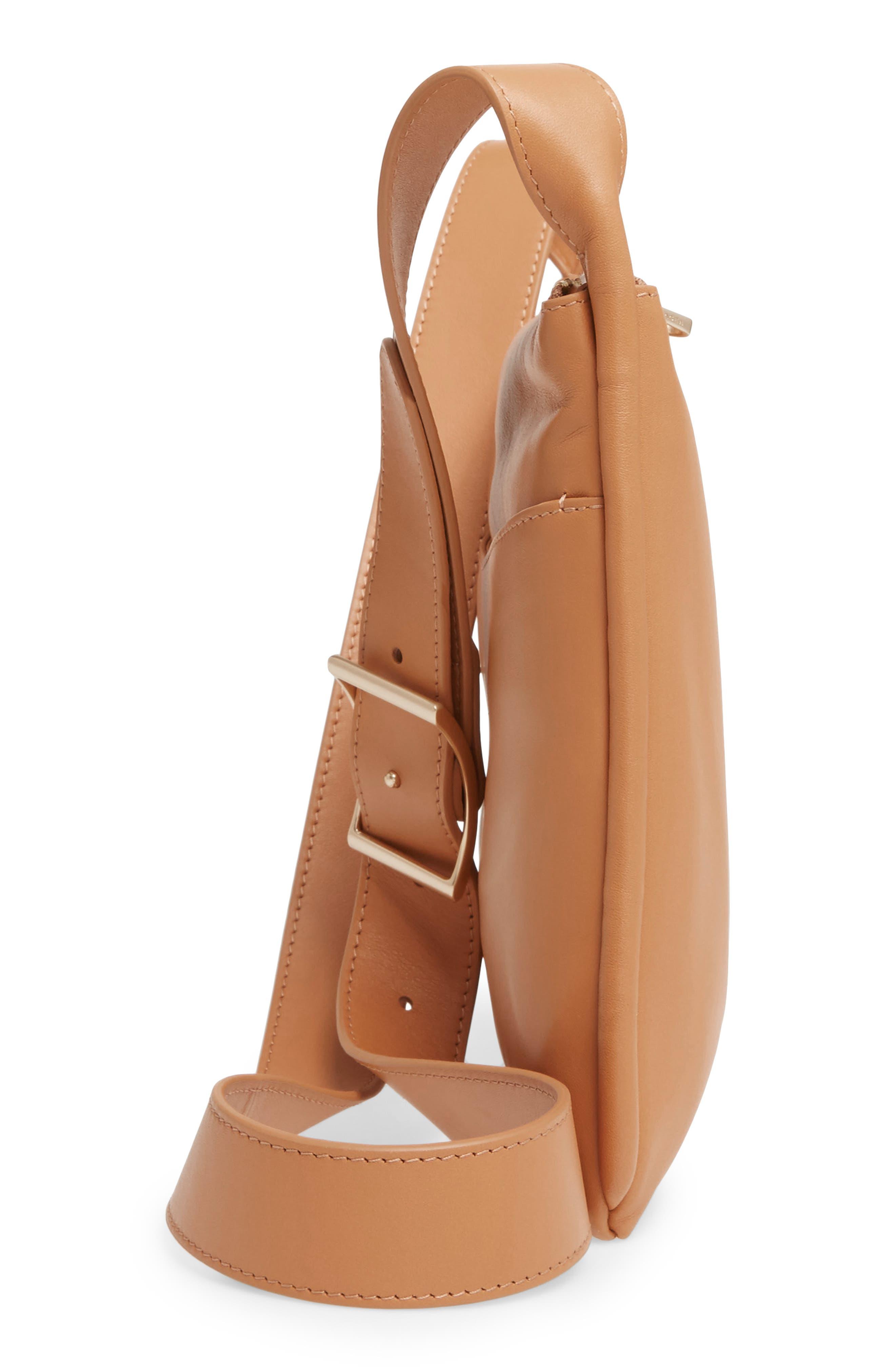 Slim Anesa Leather Crossbody Bag,                             Alternate thumbnail 10, color,