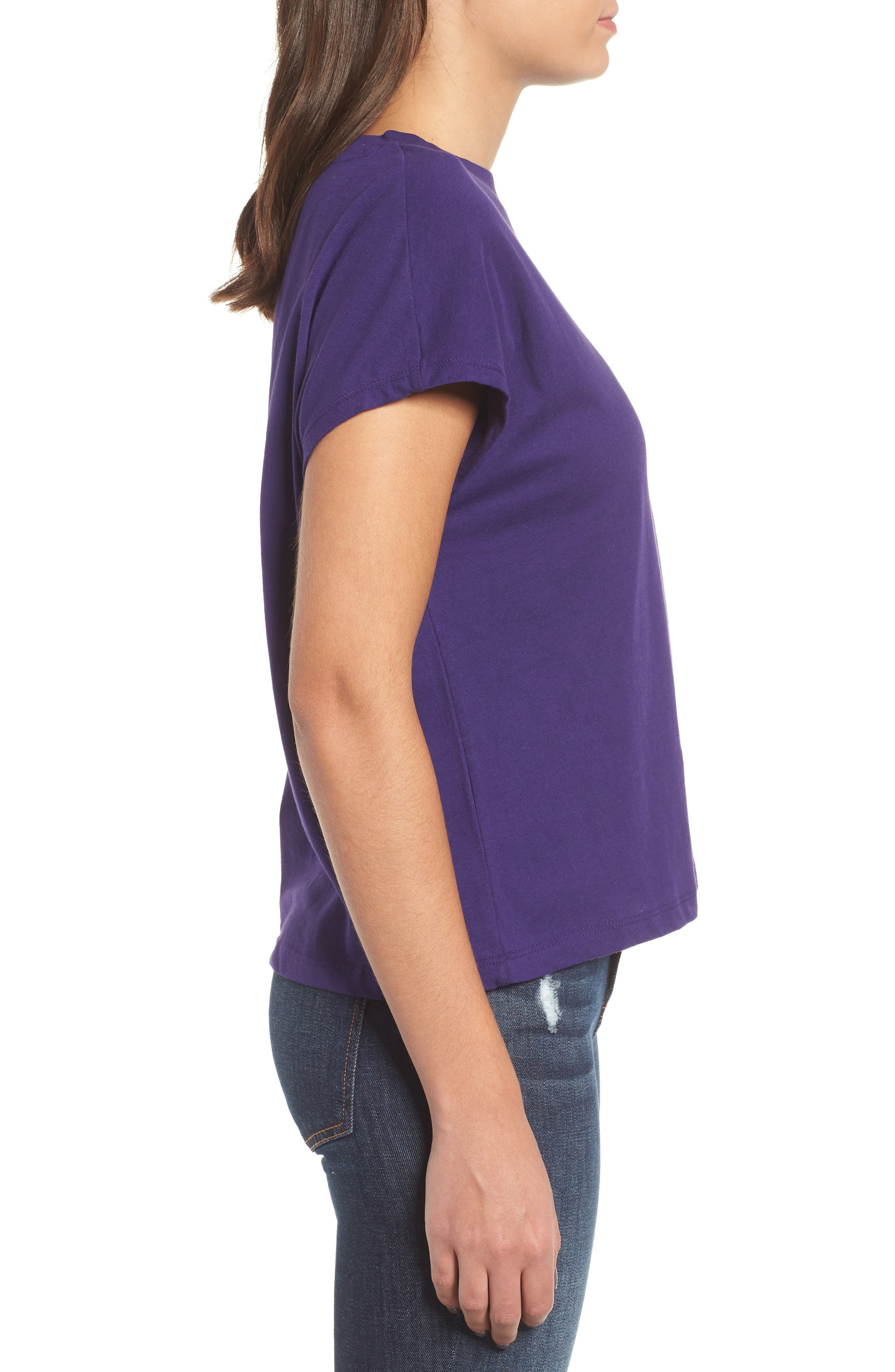 Logo Muscle Tee,                             Alternate thumbnail 3, color,                             PARACHUTE PURPLE