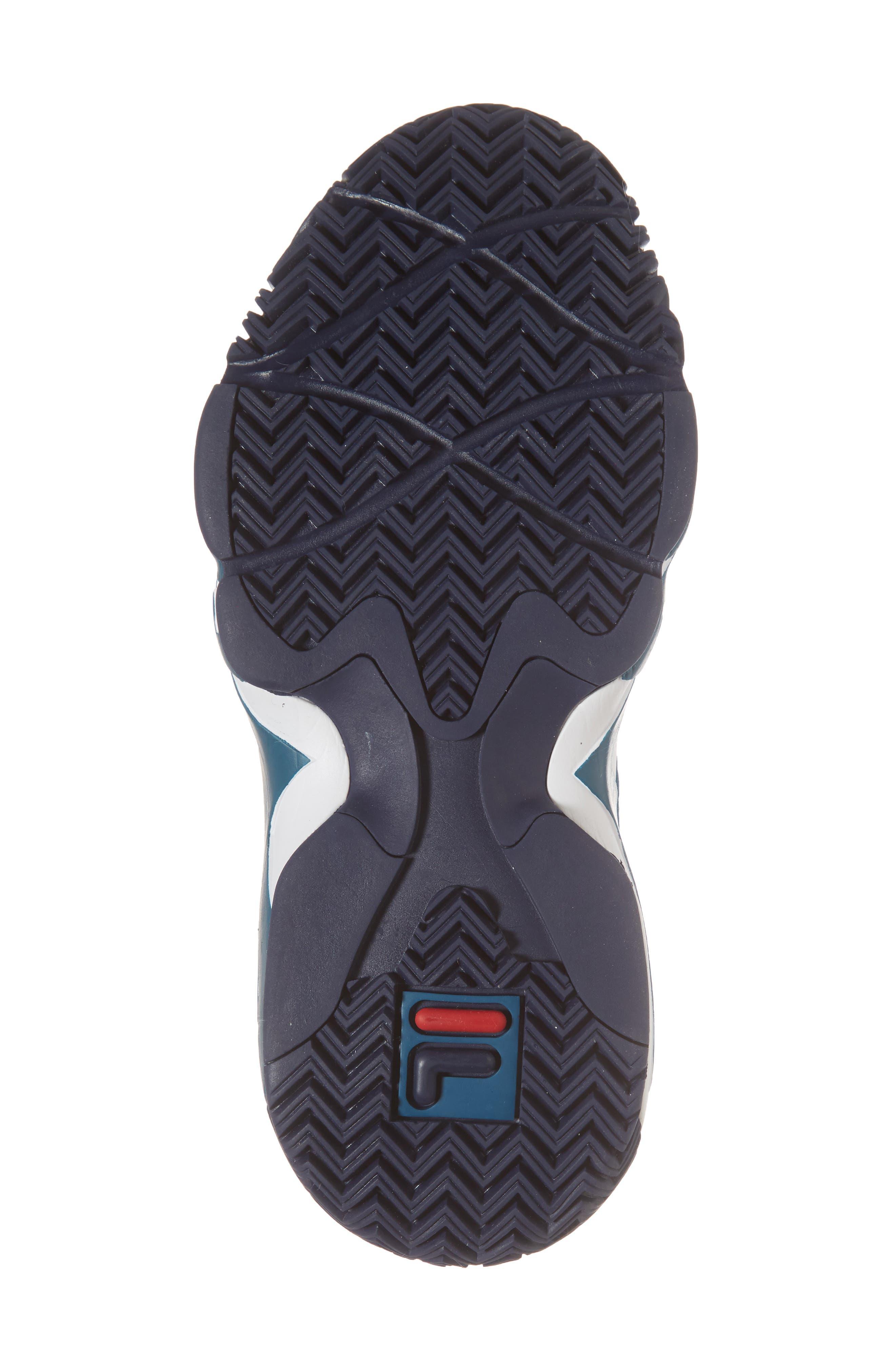 MB High Top Sneaker,                             Alternate thumbnail 6, color,                             INK BLUE/ FILA NAVY