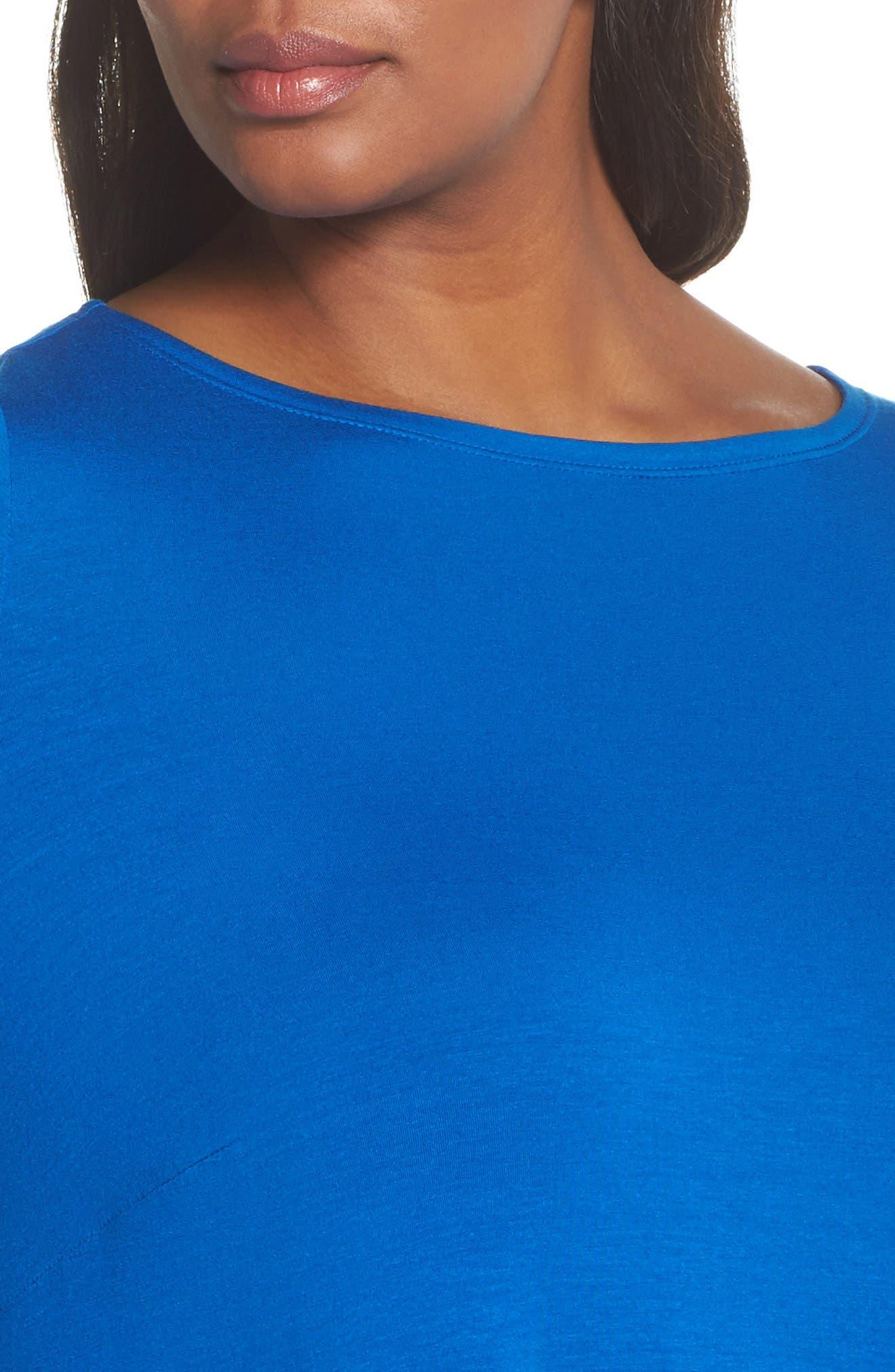 Jersey Tunic Dress,                             Alternate thumbnail 15, color,