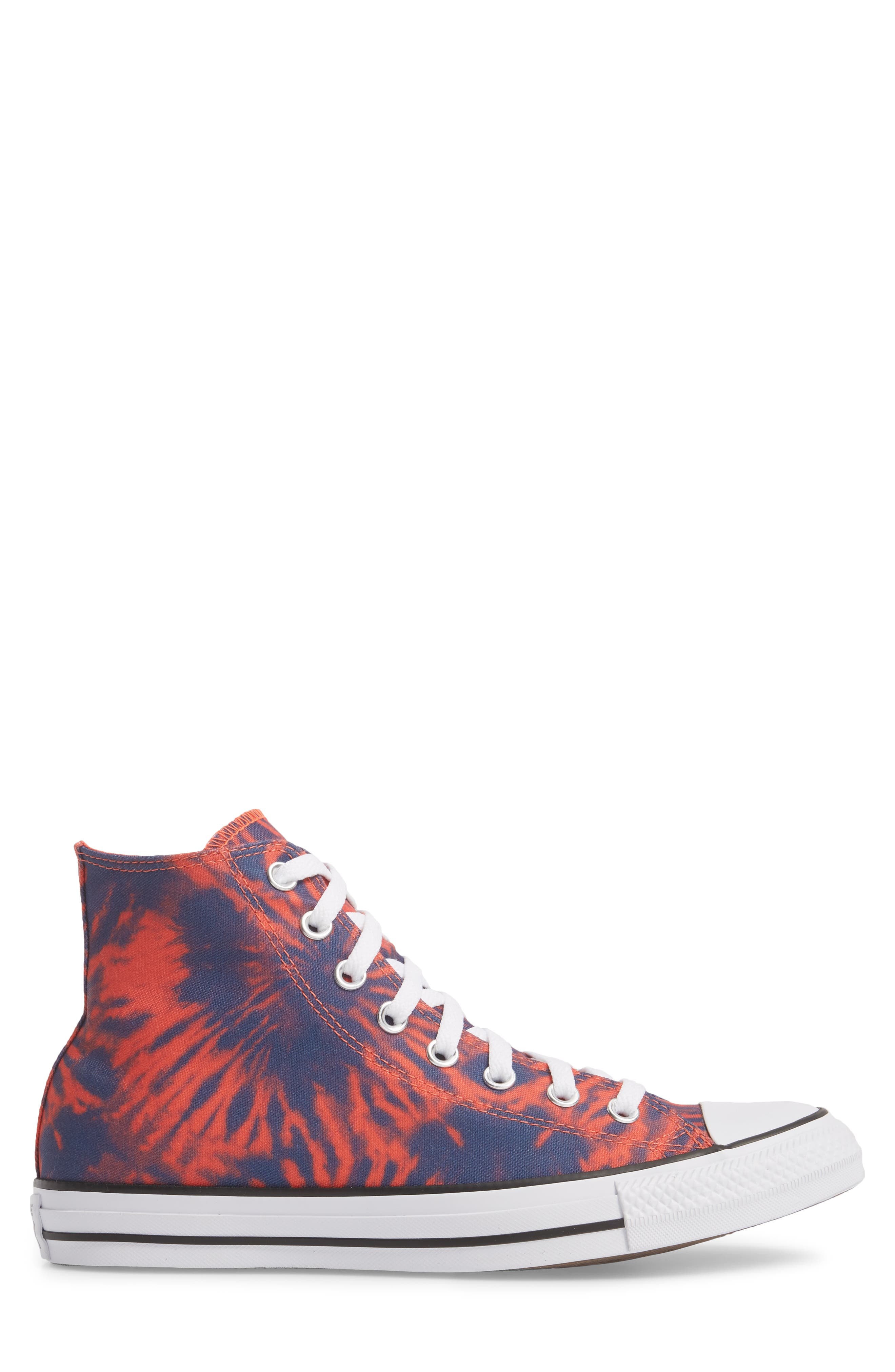 Chuck Taylor<sup>®</sup> All Star<sup>®</sup> Tie Dye High Top Sneaker,                             Alternate thumbnail 3, color,