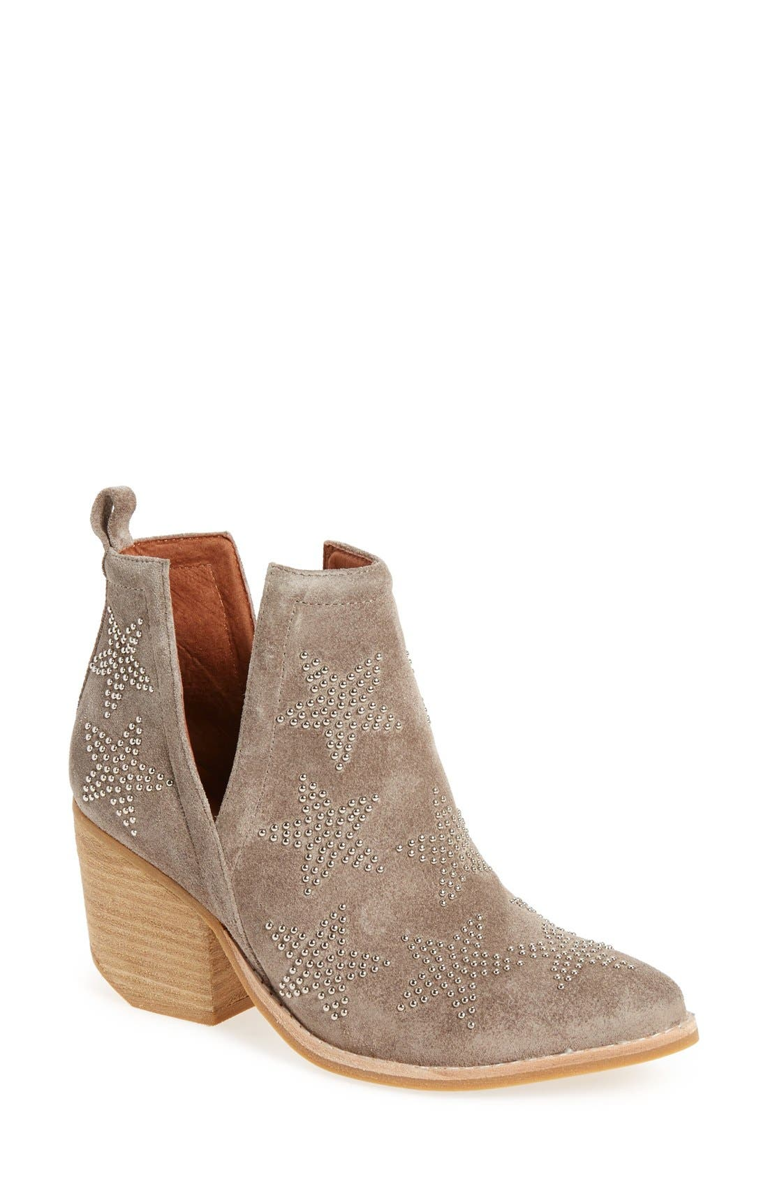 'Asterial' Star Studded Bootie, Main, color, 250