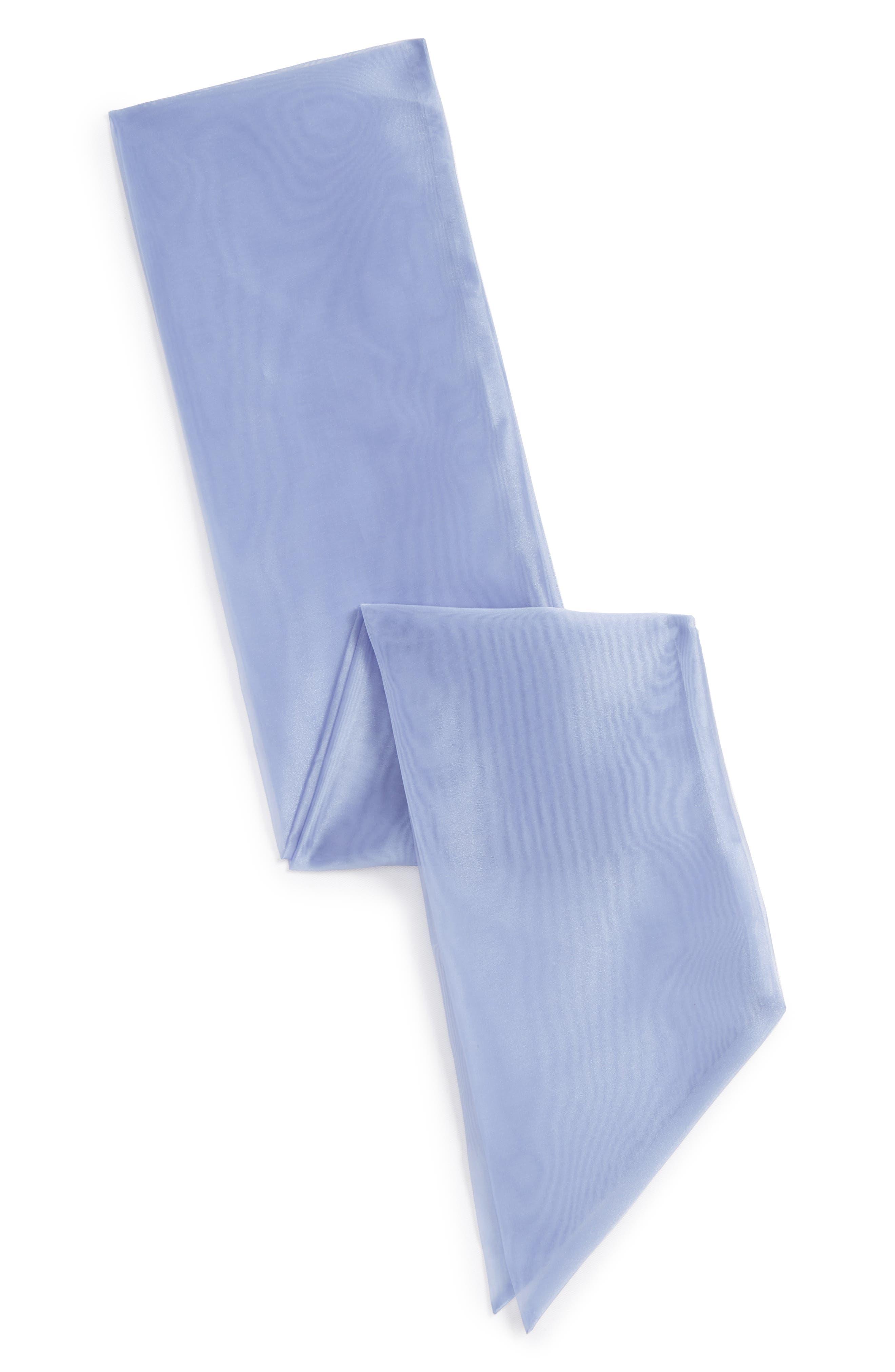 Wide Organza Sash,                         Main,                         color, 401