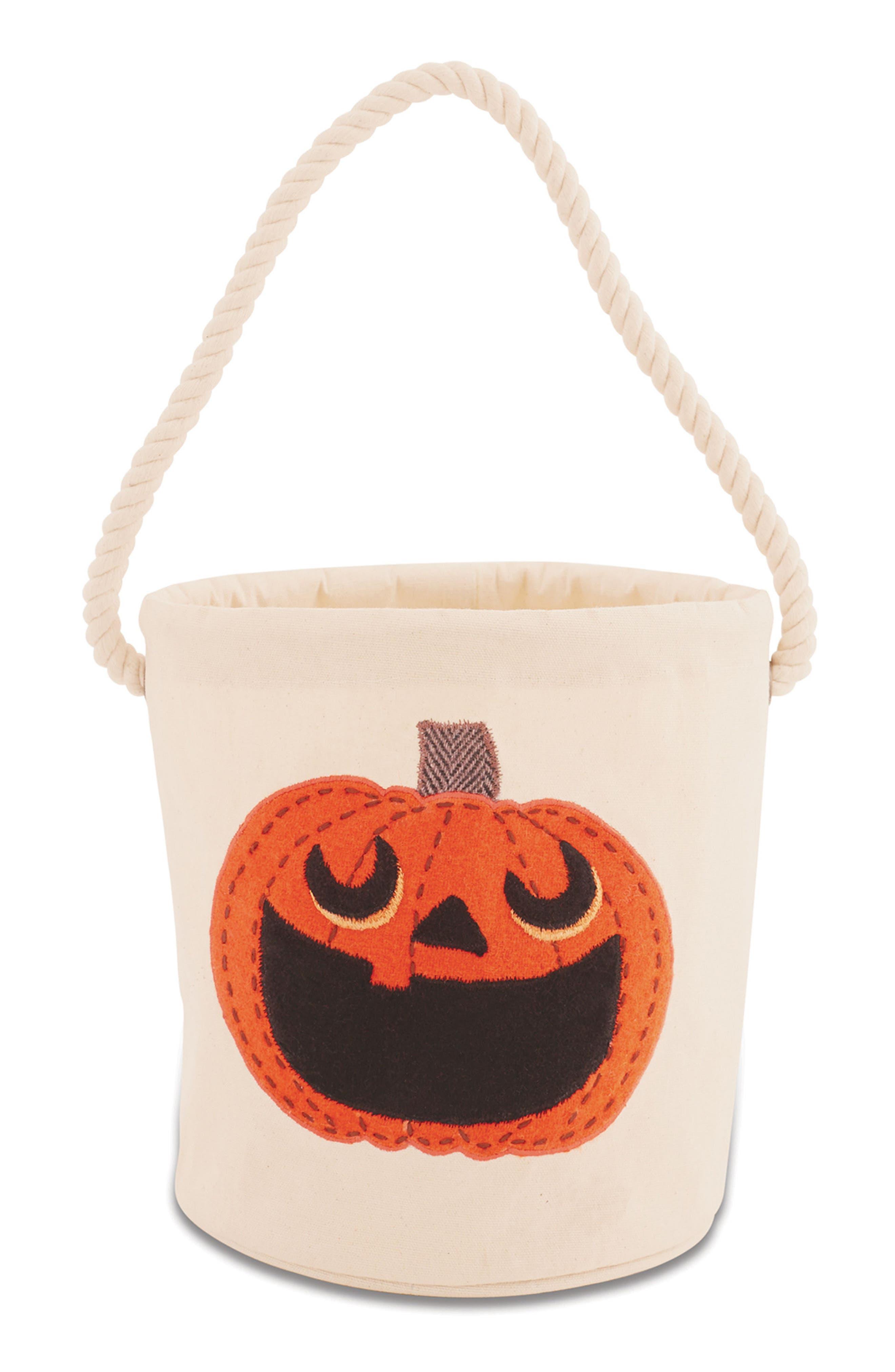 Pumpkin Bucket Tote,                             Main thumbnail 1, color,                             020