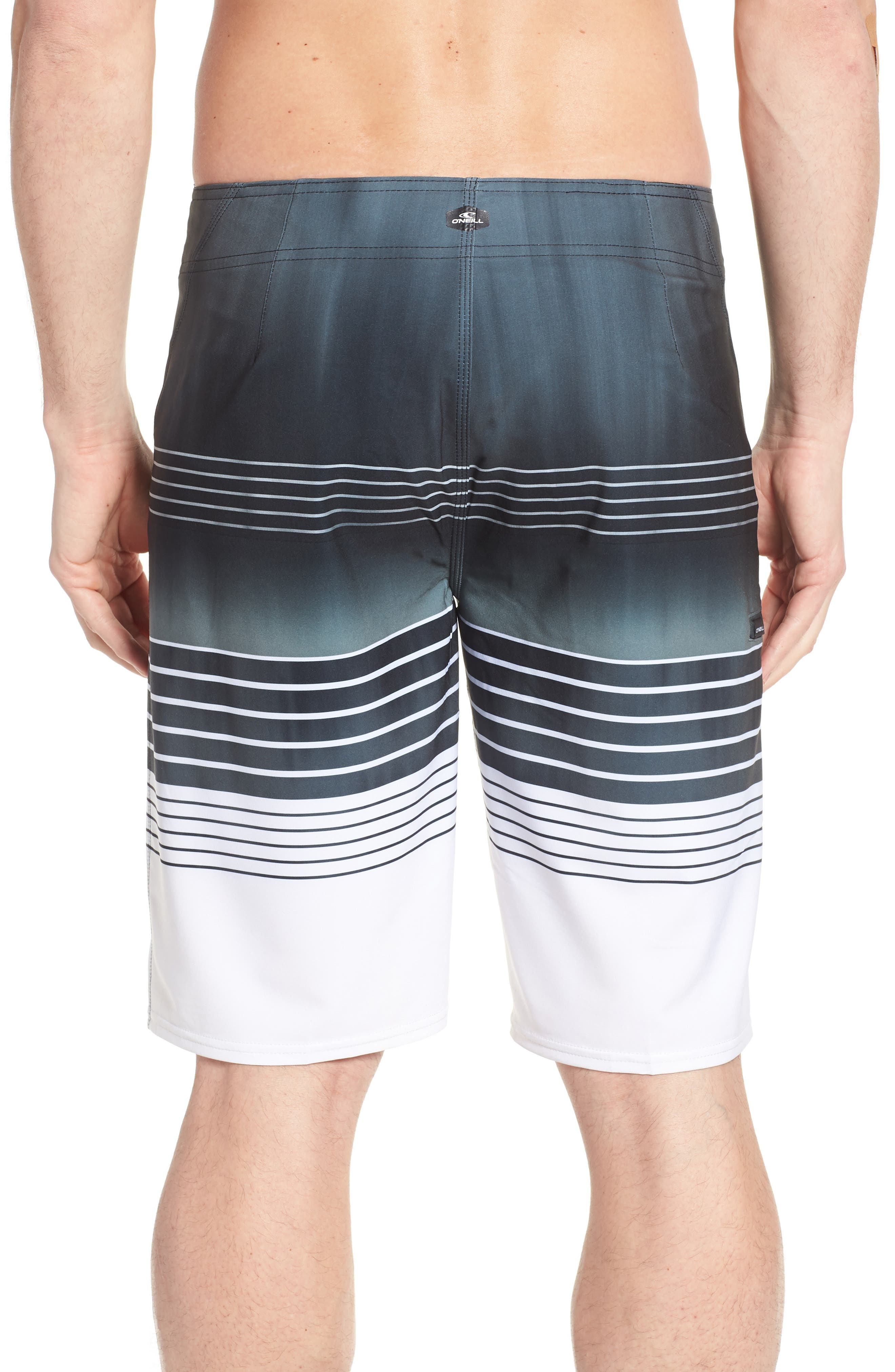 Hyperfreak Heist Board Shorts,                             Alternate thumbnail 2, color,                             001