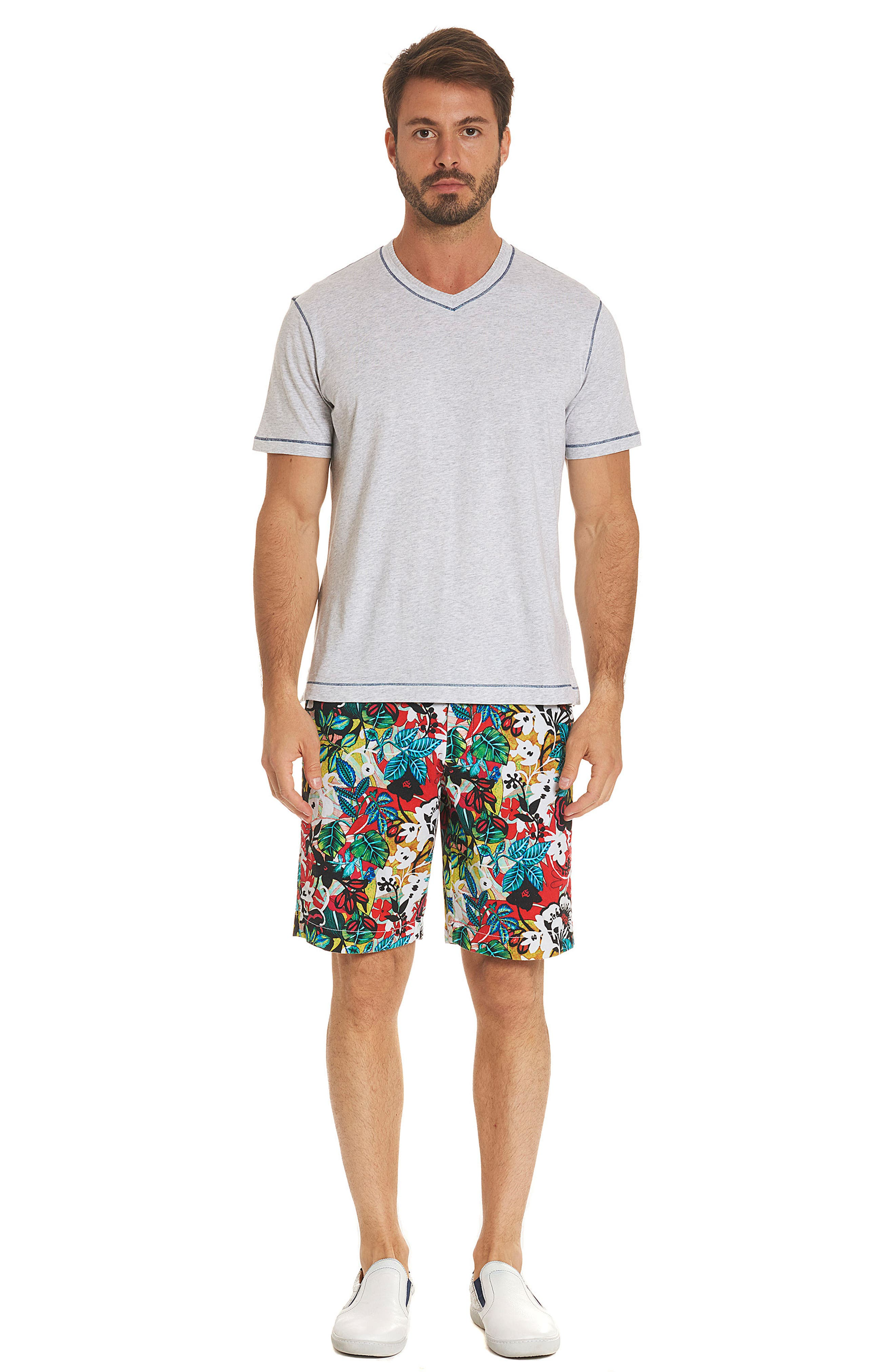 Habana Classic Fit Woven Shorts,                             Alternate thumbnail 7, color,