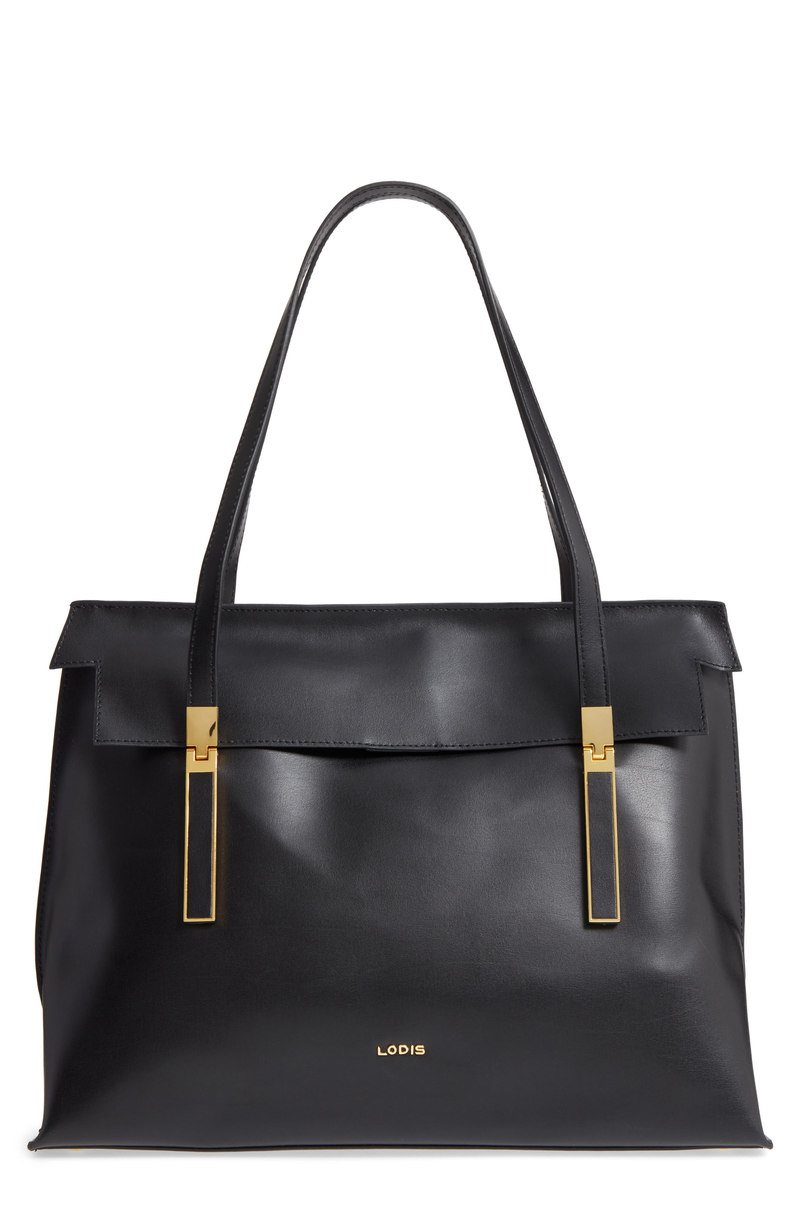 LODIS Silicon Valley - Lorrain RFID Leather Satchel,                         Main,                         color,