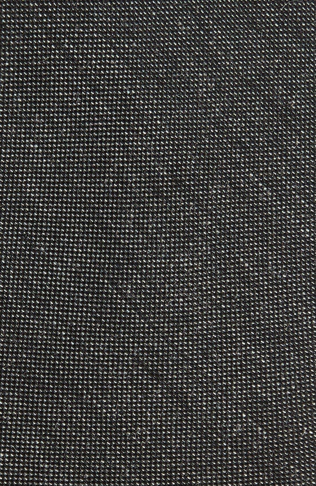 Mélange Woven Skinny Tie,                             Alternate thumbnail 2, color,                             015