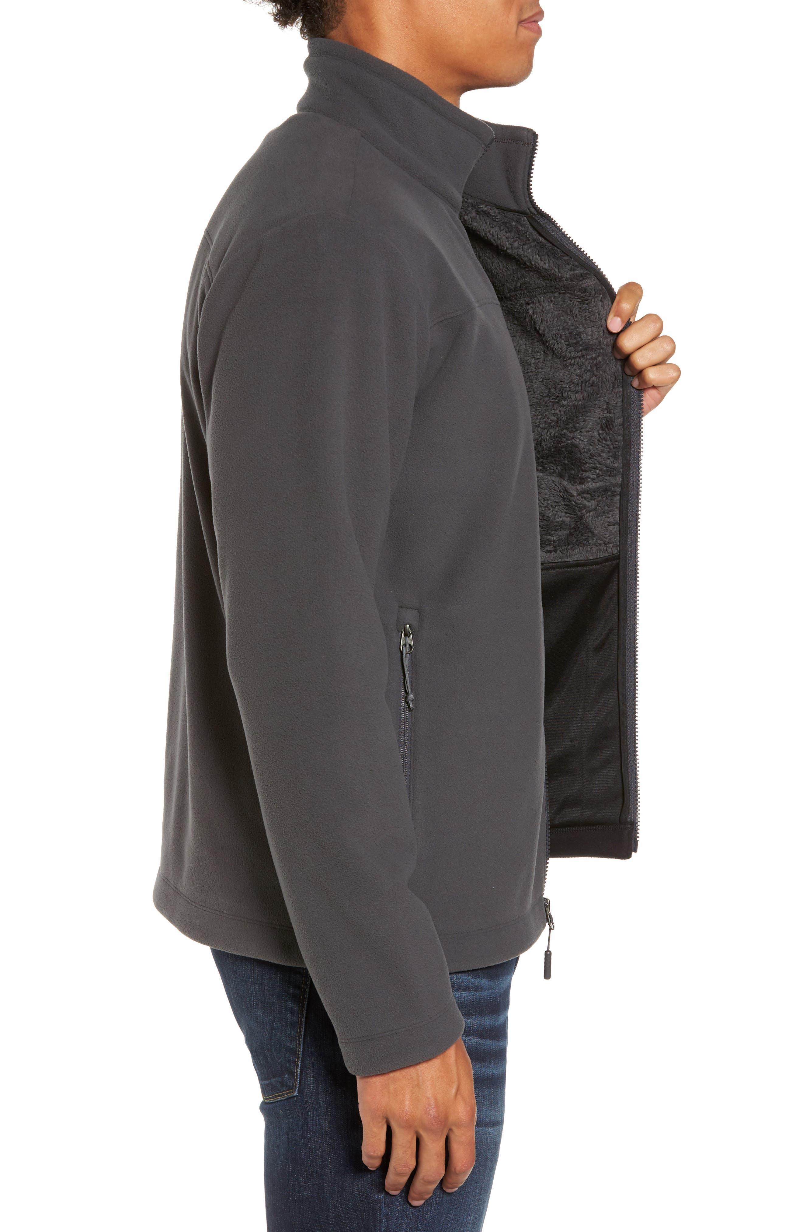 'Chimborazo' Zip Front Fleece Jacket,                             Alternate thumbnail 25, color,