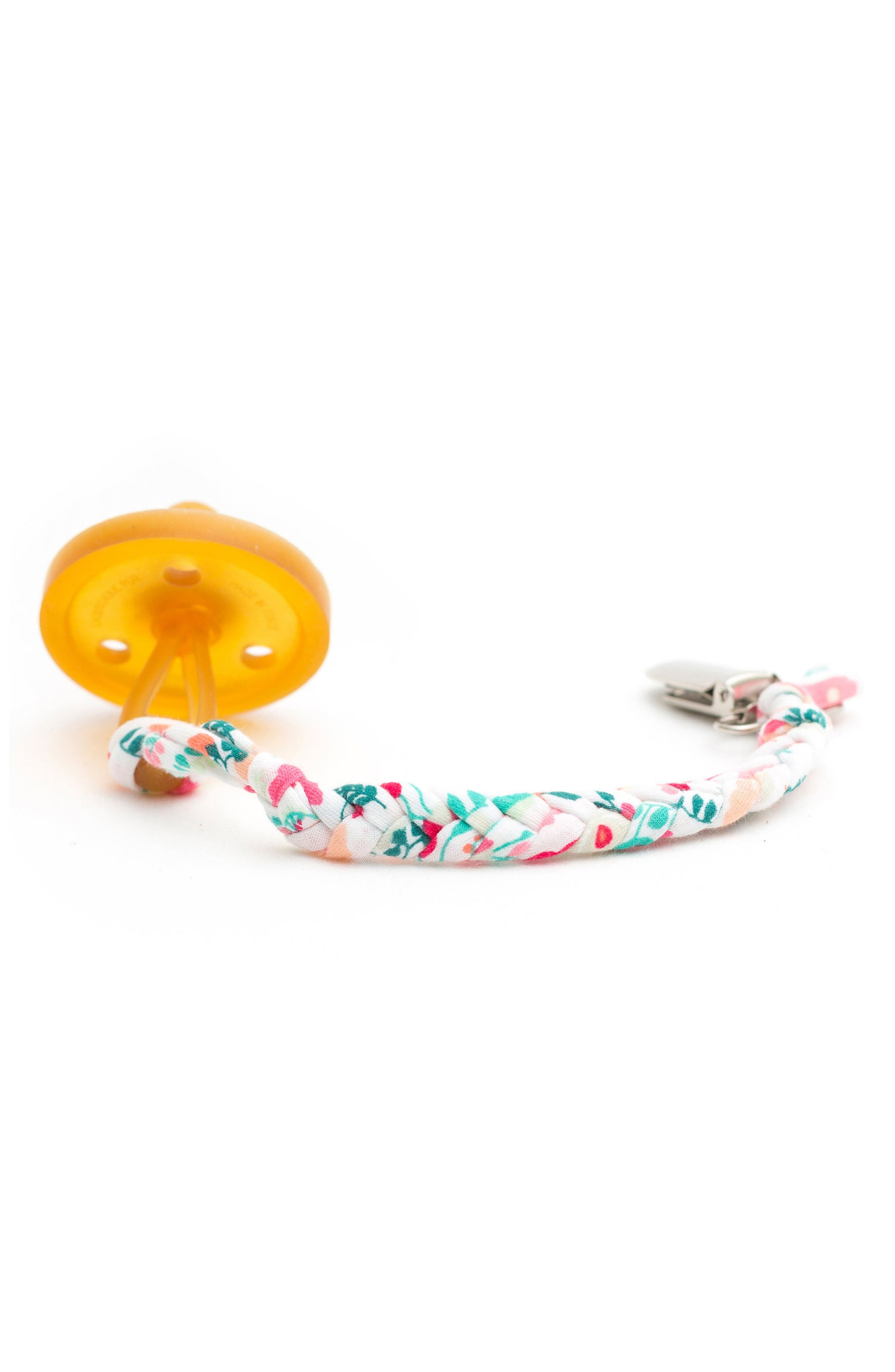 Infant Madelines Box Softy Braided Pacifier Clip