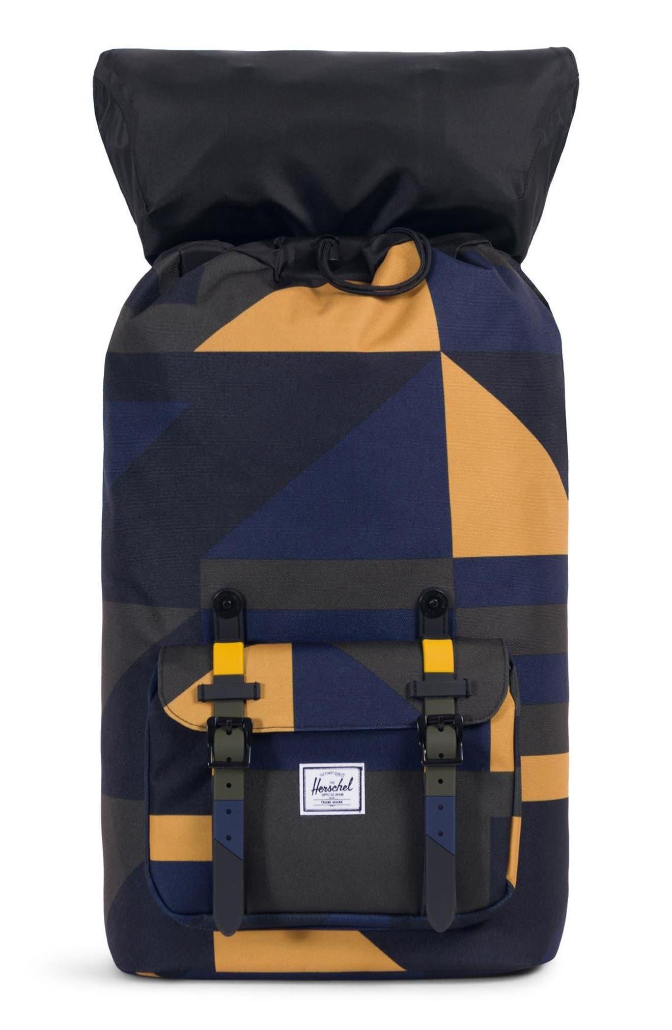 Little America Backpack,                             Alternate thumbnail 3, color,                             ARROW WOOD FRONTIER GEO