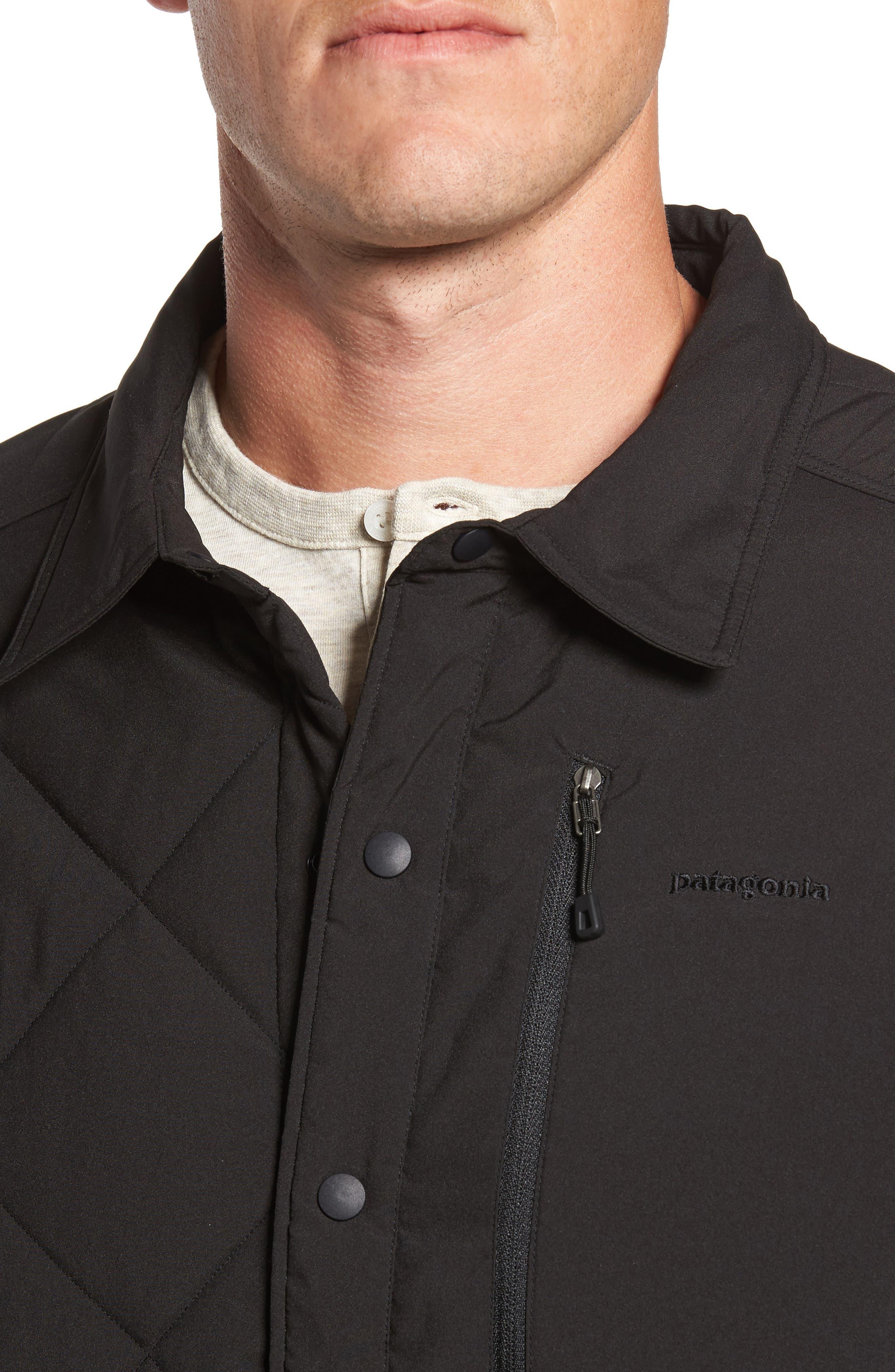 Tough Puff Shirt Jacket,                             Alternate thumbnail 4, color,                             001