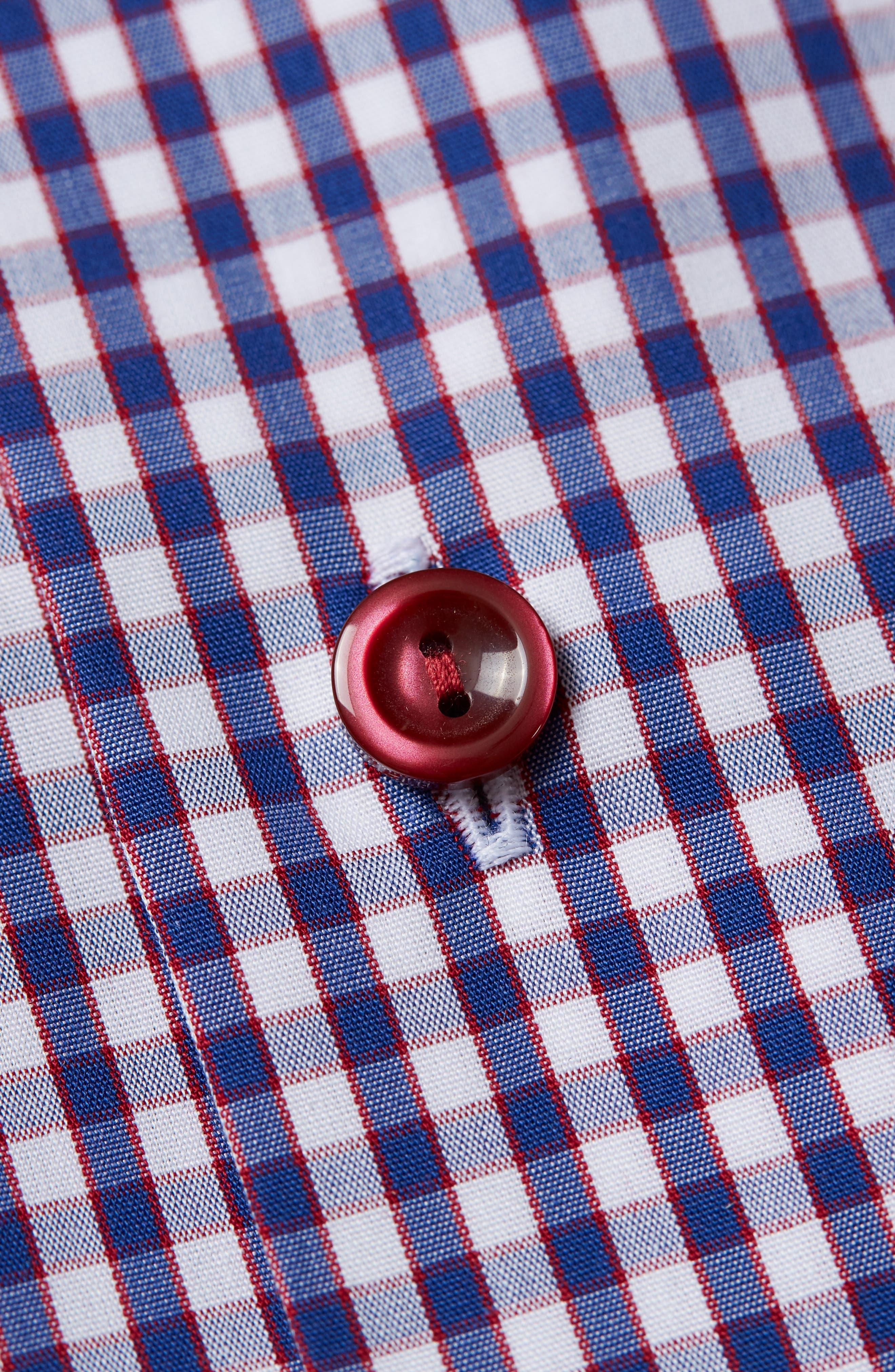Contemporary Fit Check Dress Shirt,                             Alternate thumbnail 2, color,                             400