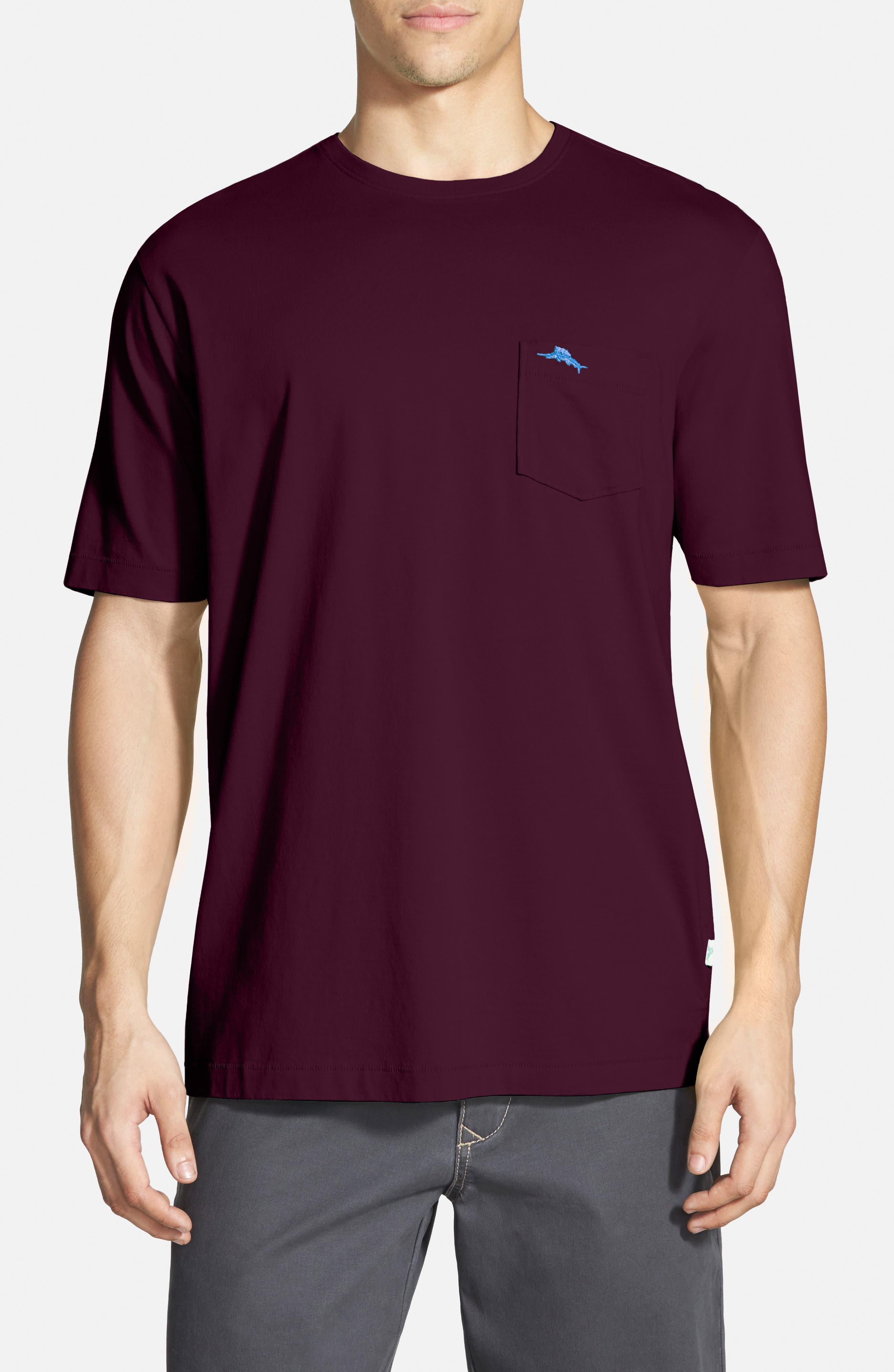 New Bali Sky Pima Cotton Pocket T-Shirt,                             Main thumbnail 44, color,