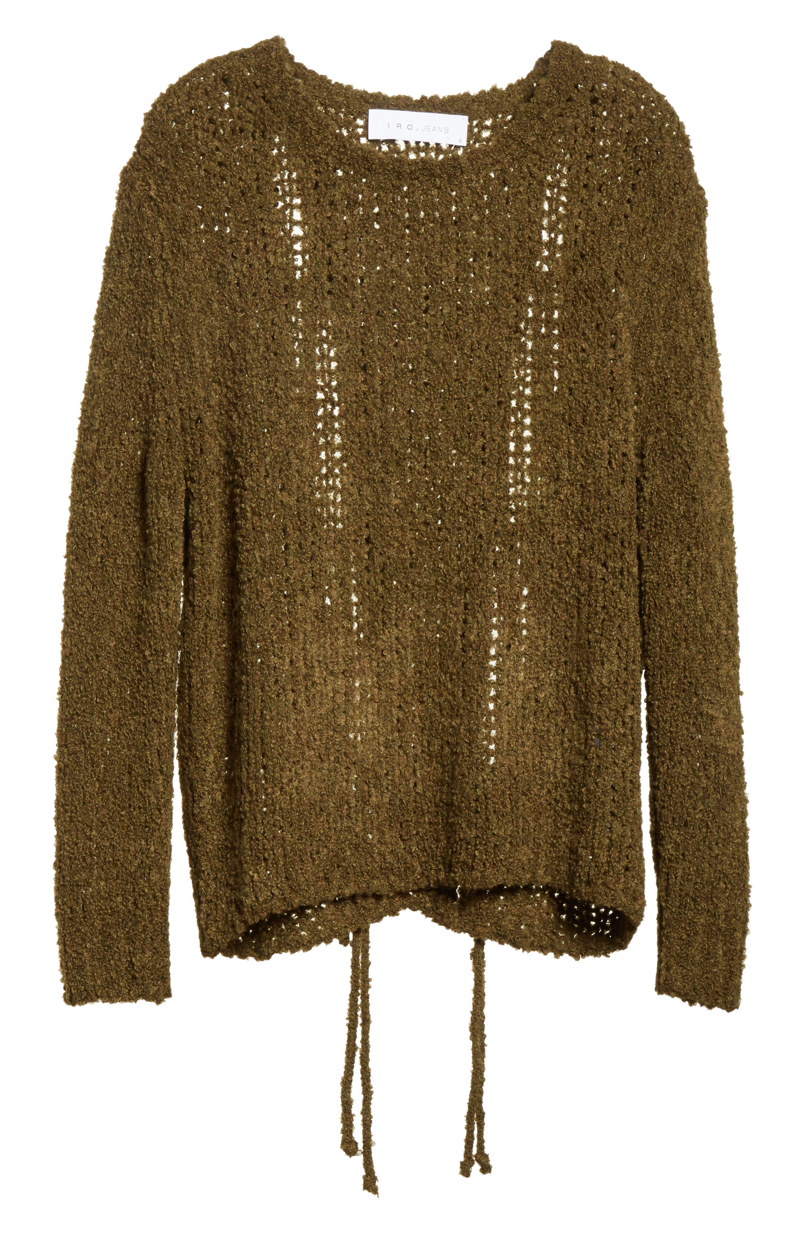 Cresent Cutout Sweater,                             Alternate thumbnail 6, color,                             300