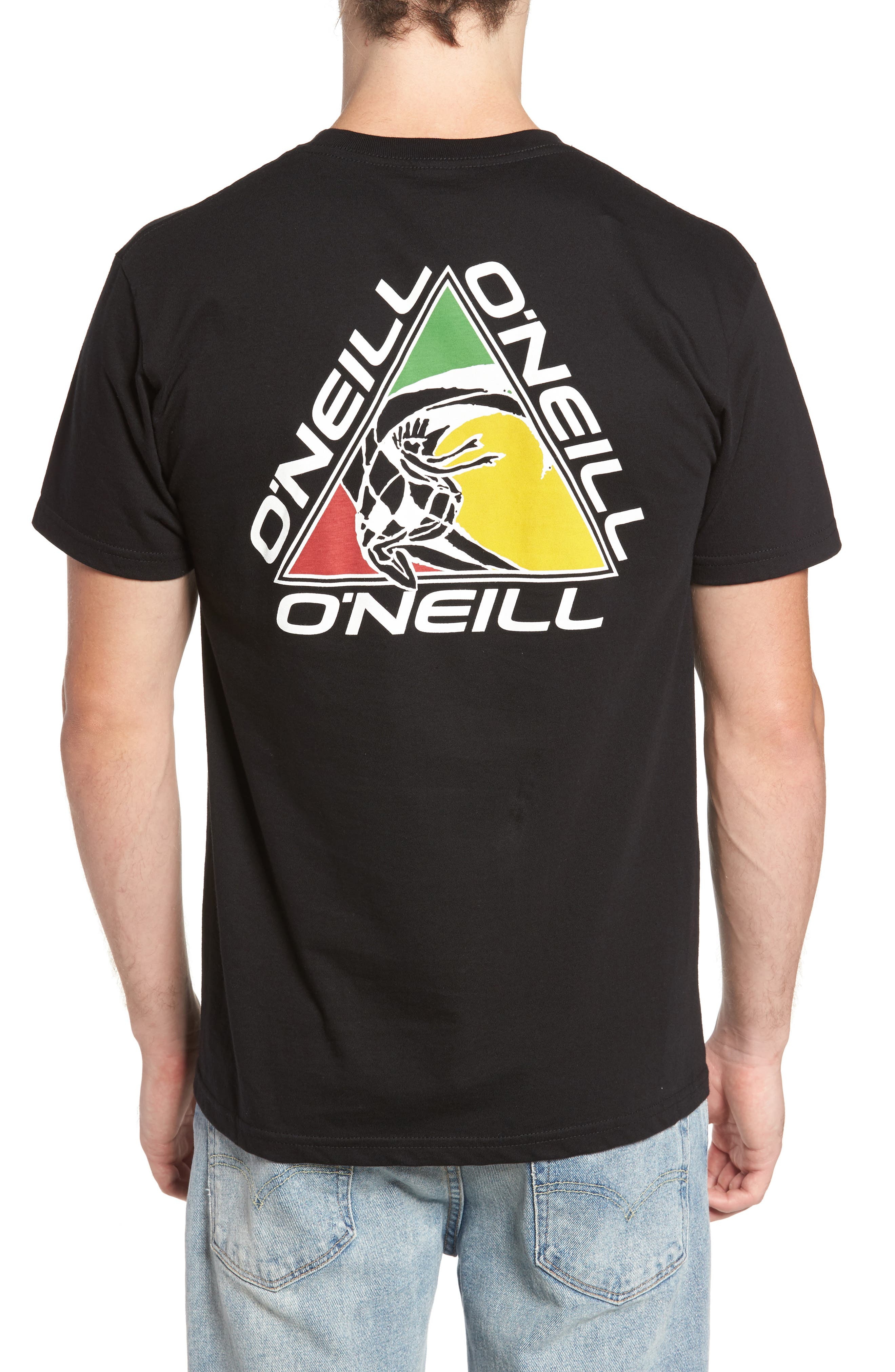 Triad Graphic T-Shirt,                             Alternate thumbnail 2, color,                             001