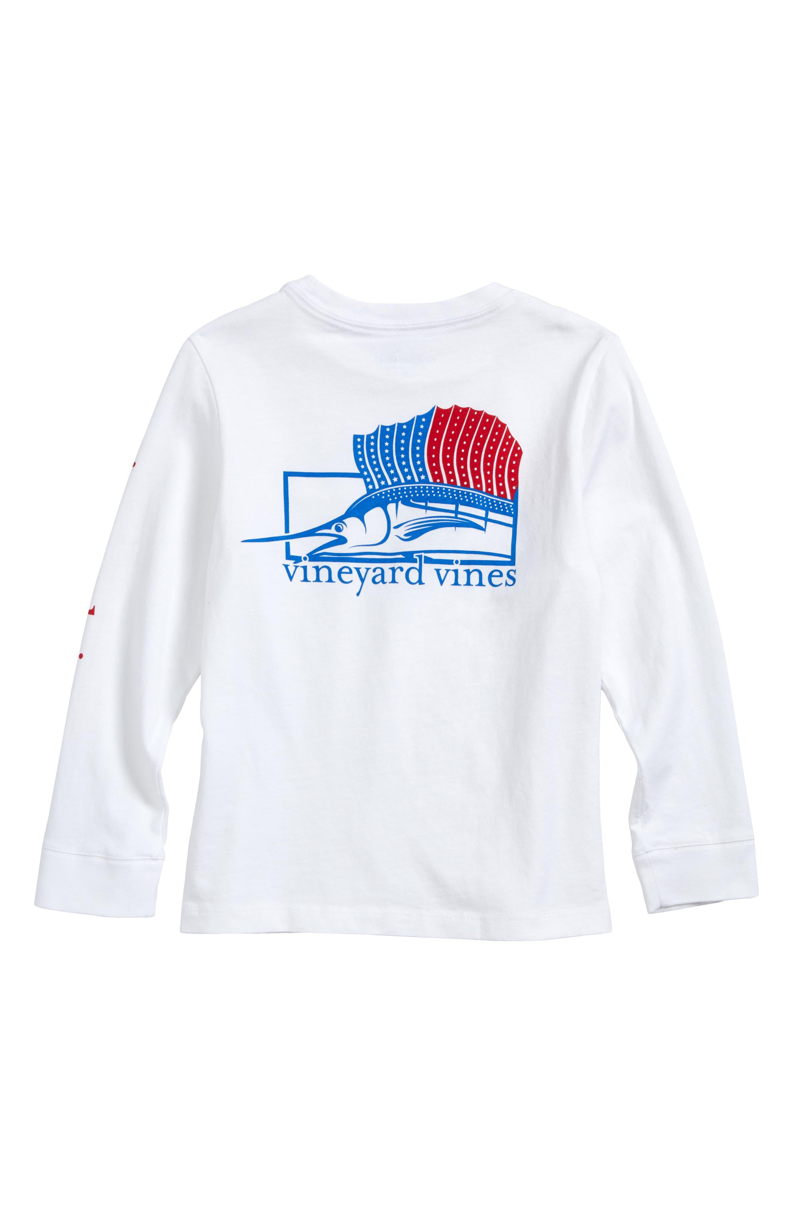 American Sailfish T-Shirt,                             Alternate thumbnail 2, color,                             100