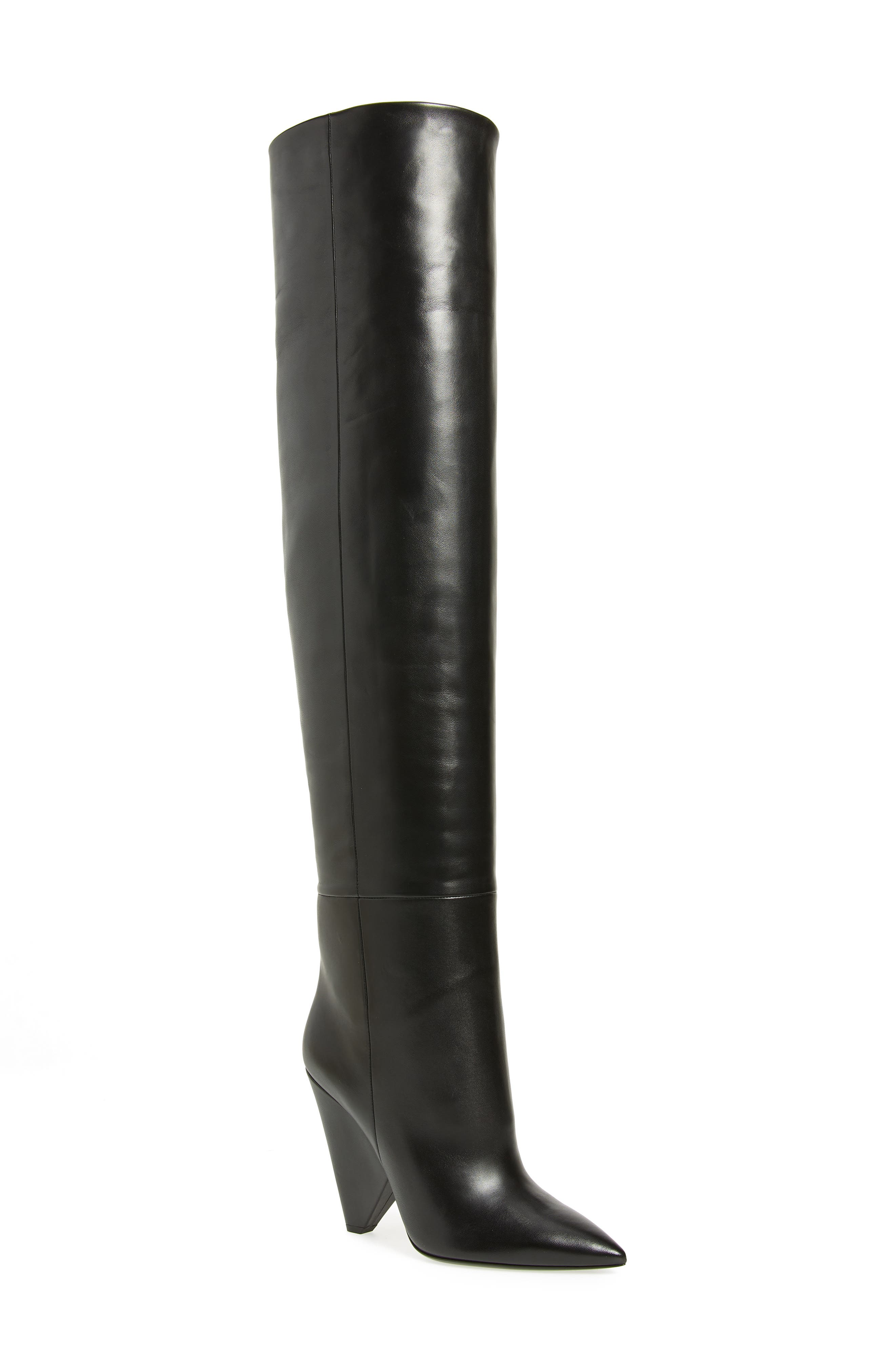 Over the Knee Boot,                             Main thumbnail 1, color,                             002