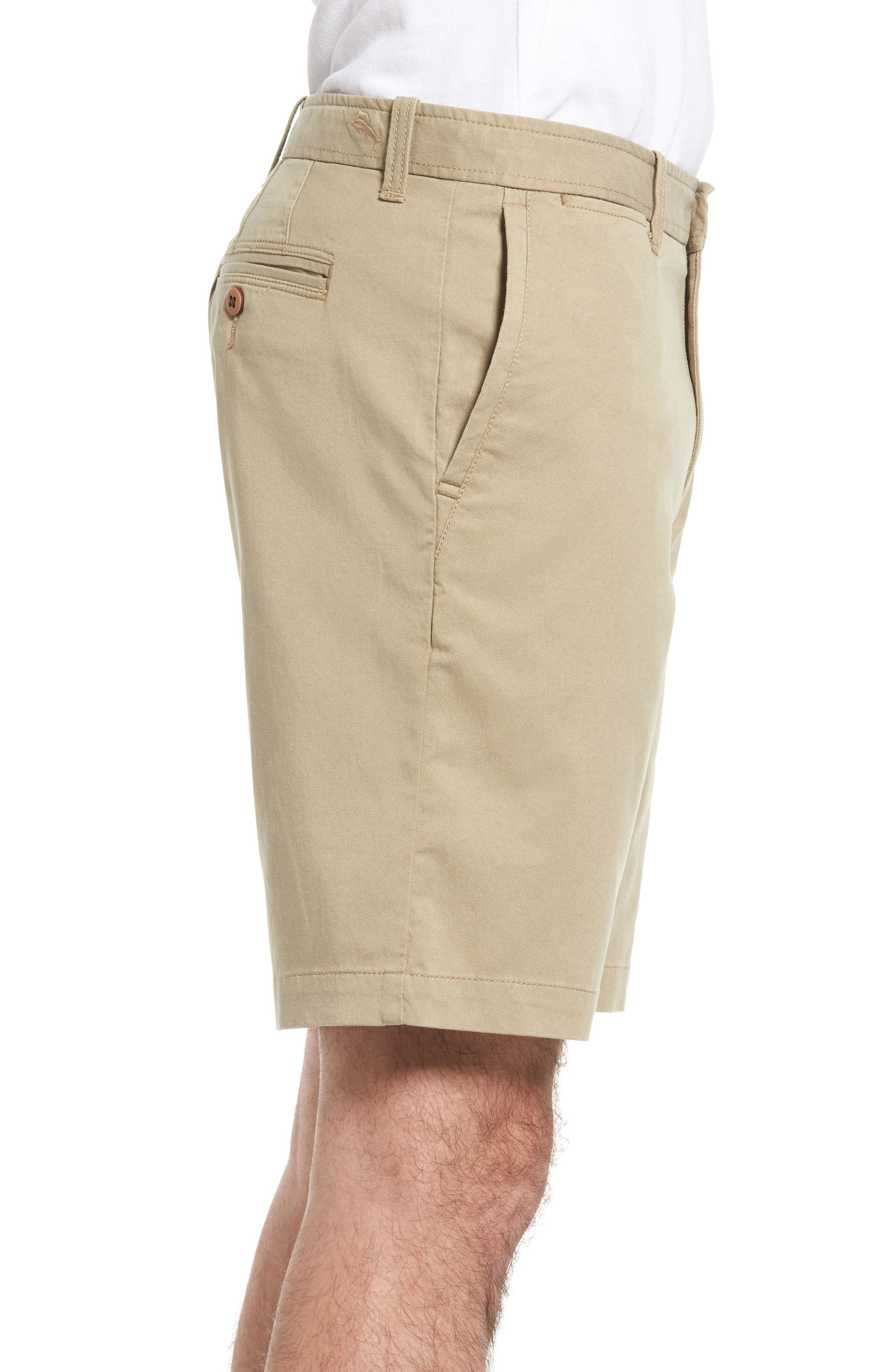 'Offshore' Stretch Twill Shorts,                             Alternate thumbnail 3, color,                             201