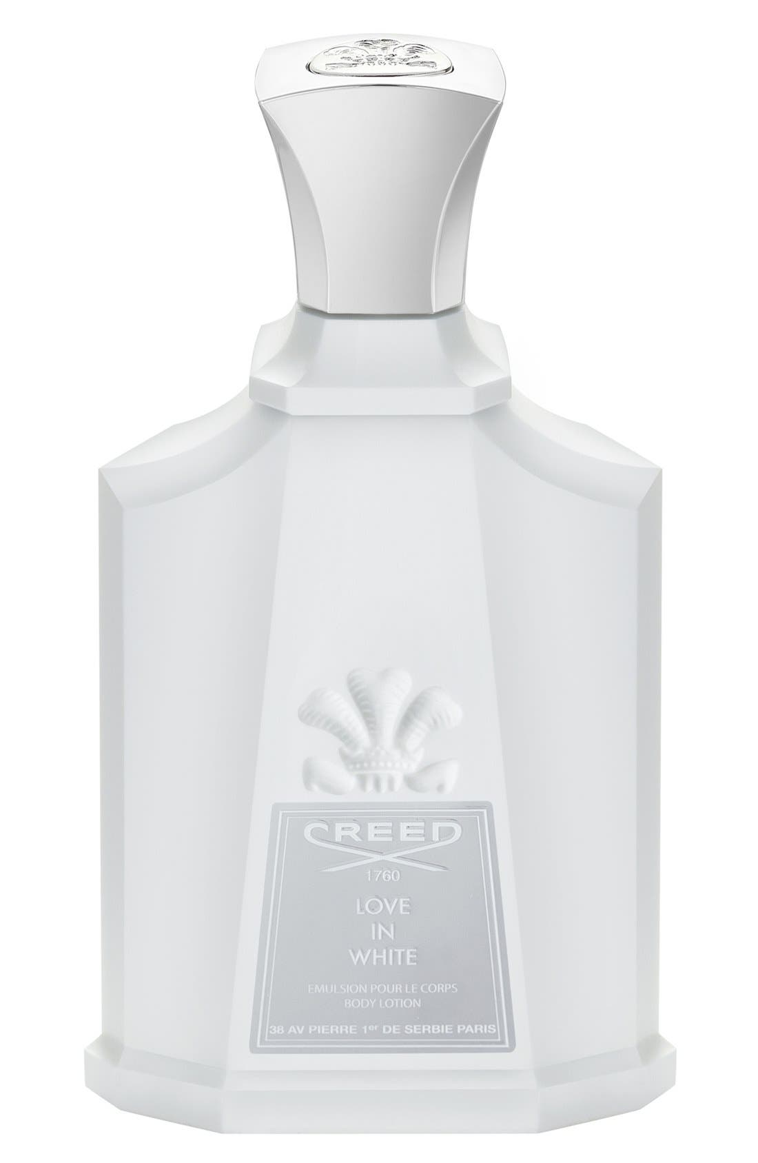 'Love in White' Body Lotion,                         Main,                         color, NO COLOR