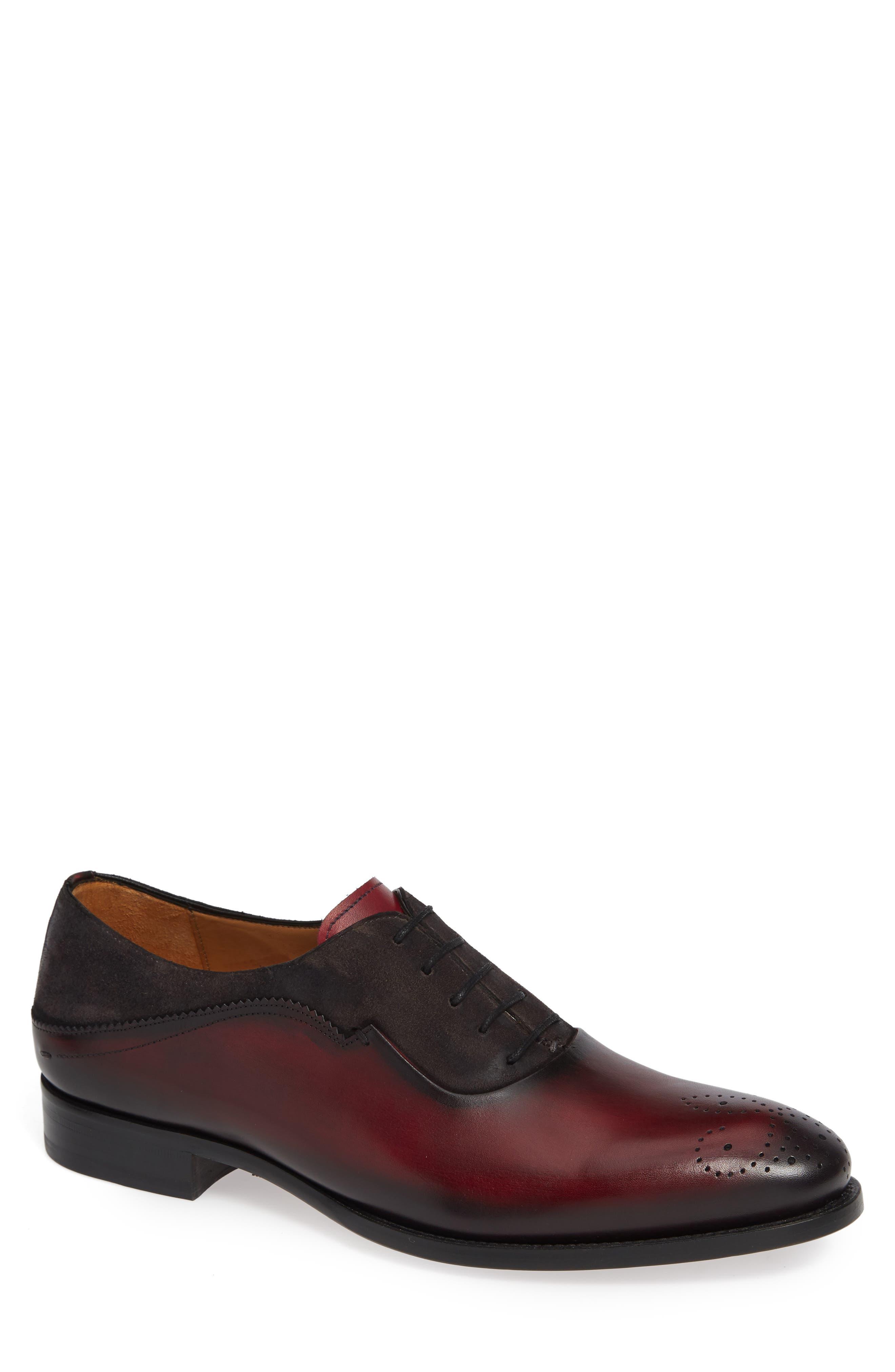 Mezlan Hanks Longwing Oxford, Red