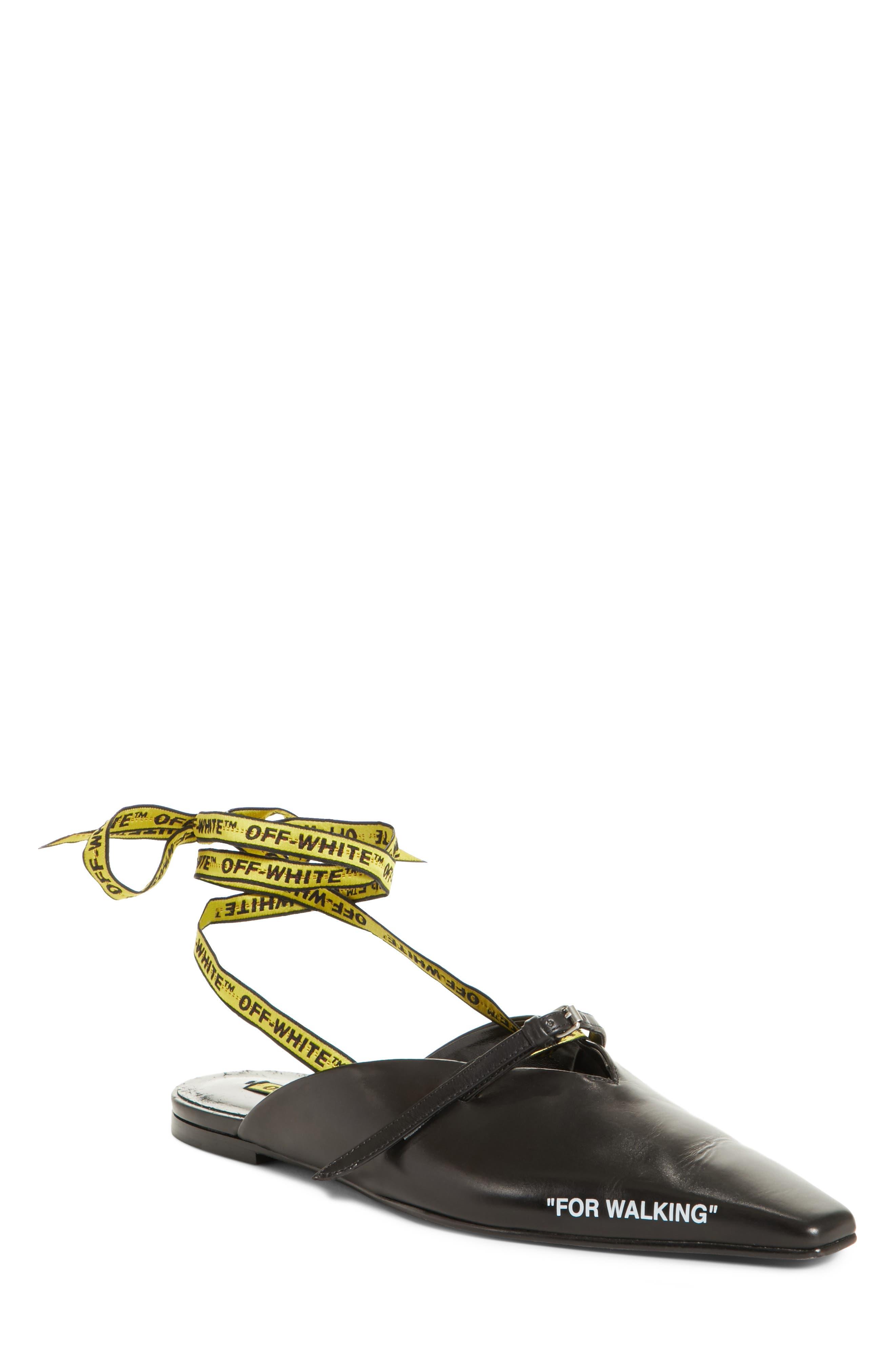 For Walking Slipper Flat,                         Main,                         color, 001