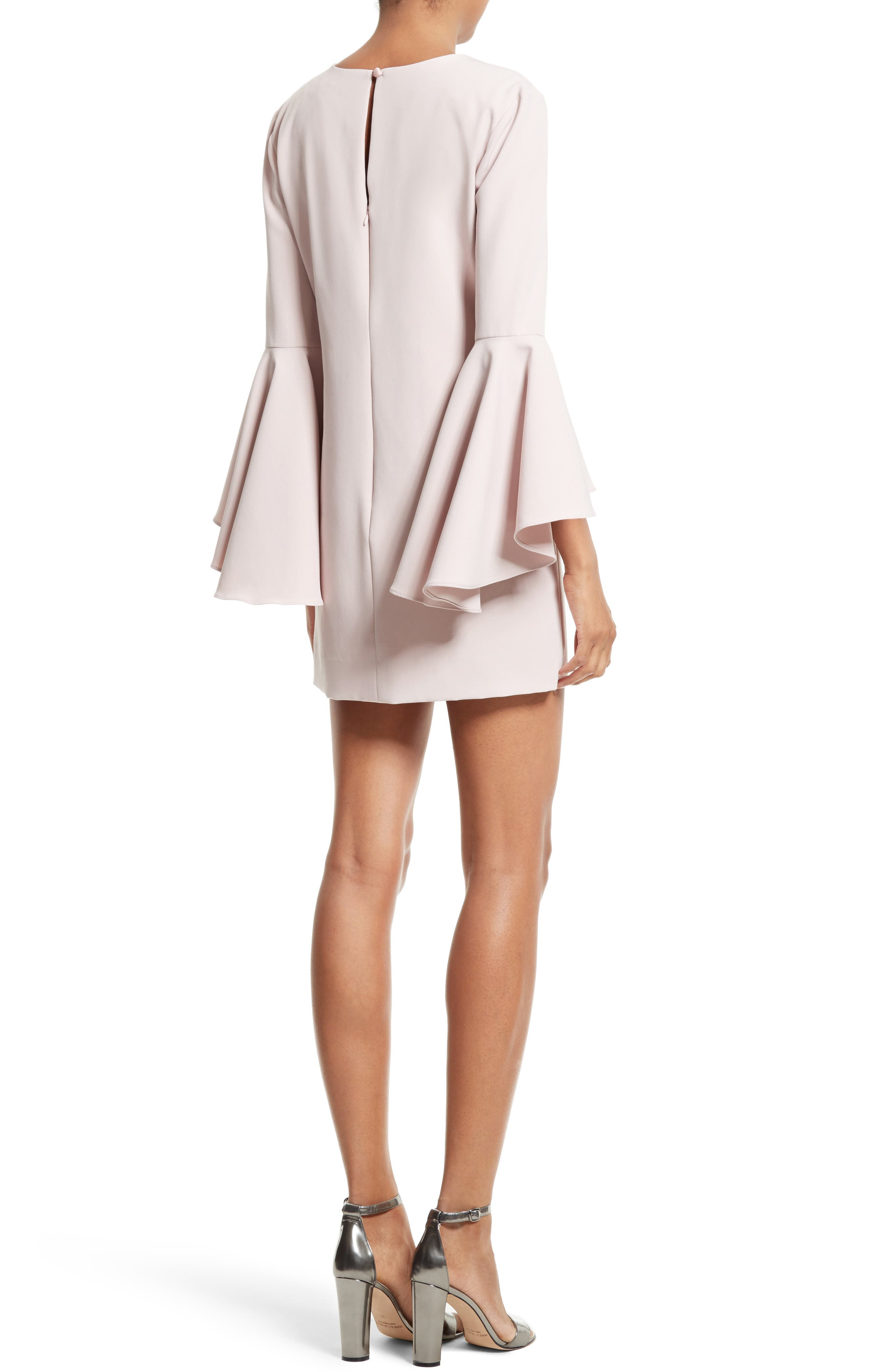 Nicole Bell Sleeve Dress,                             Alternate thumbnail 29, color,