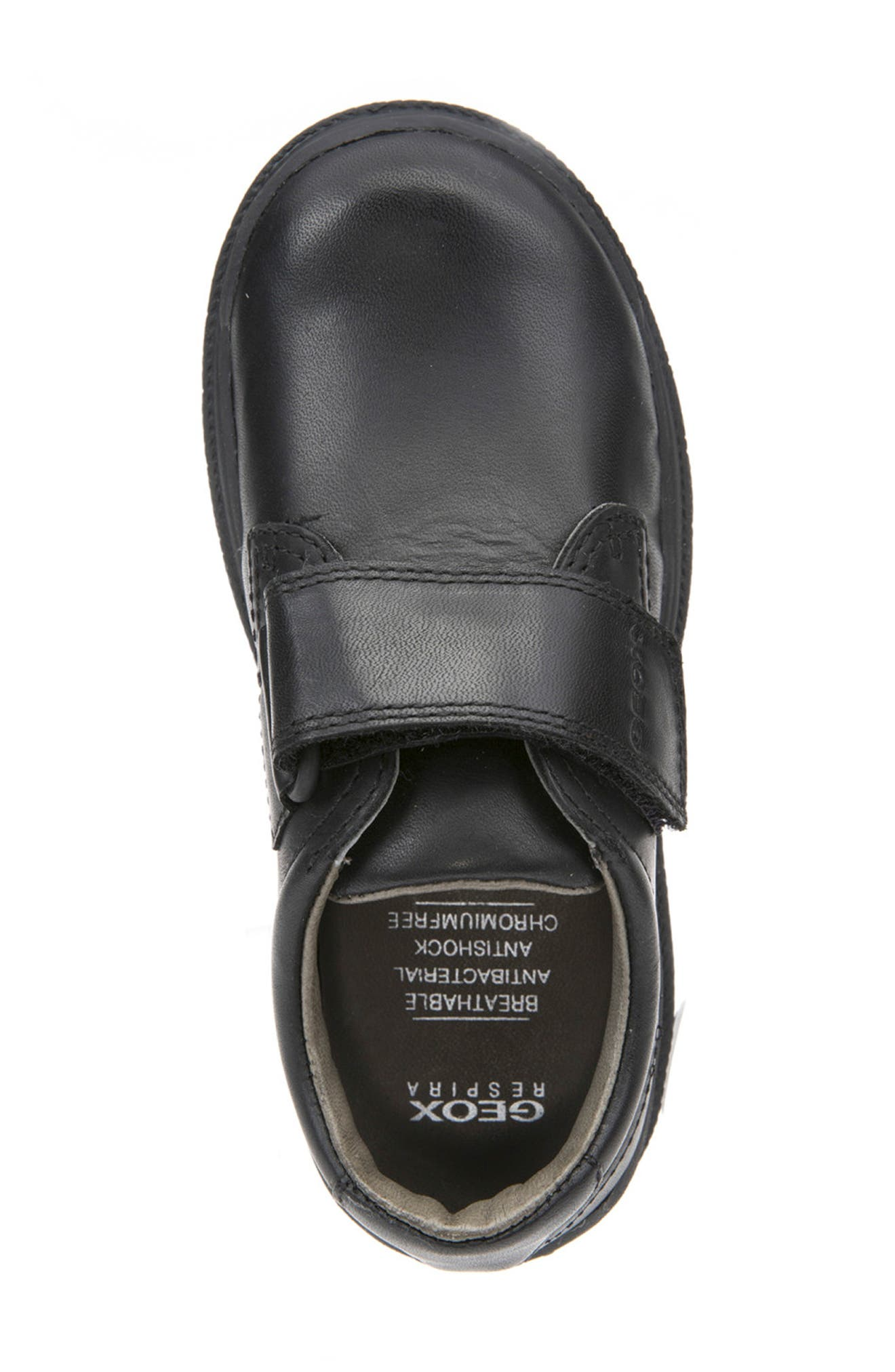 GEOX,                             'William' Oxford,                             Alternate thumbnail 5, color,                             BLACK