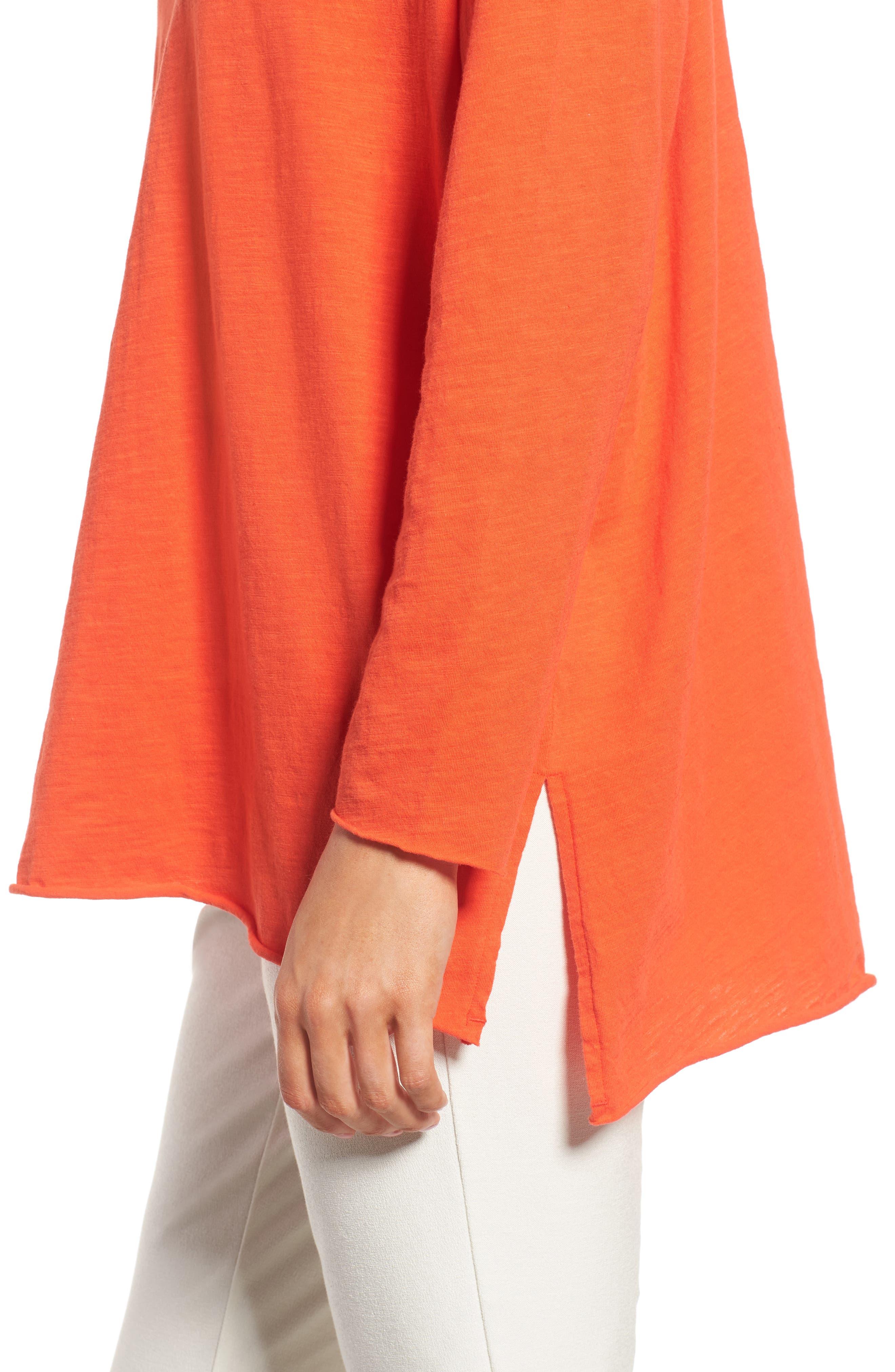 Organic Cotton Knit Top,                             Alternate thumbnail 35, color,