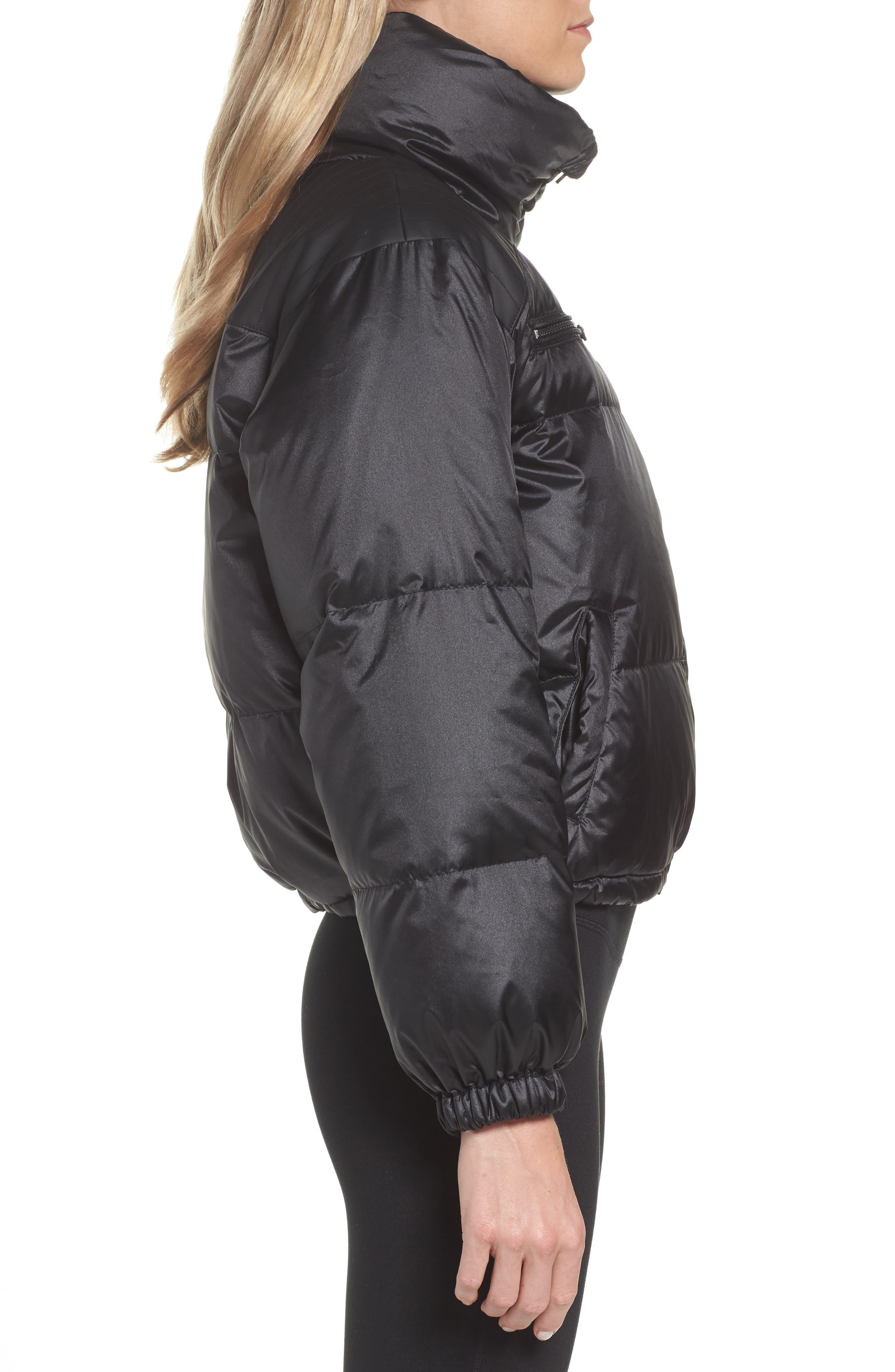 Reversible Puffer Jacket,                             Alternate thumbnail 4, color,                             001